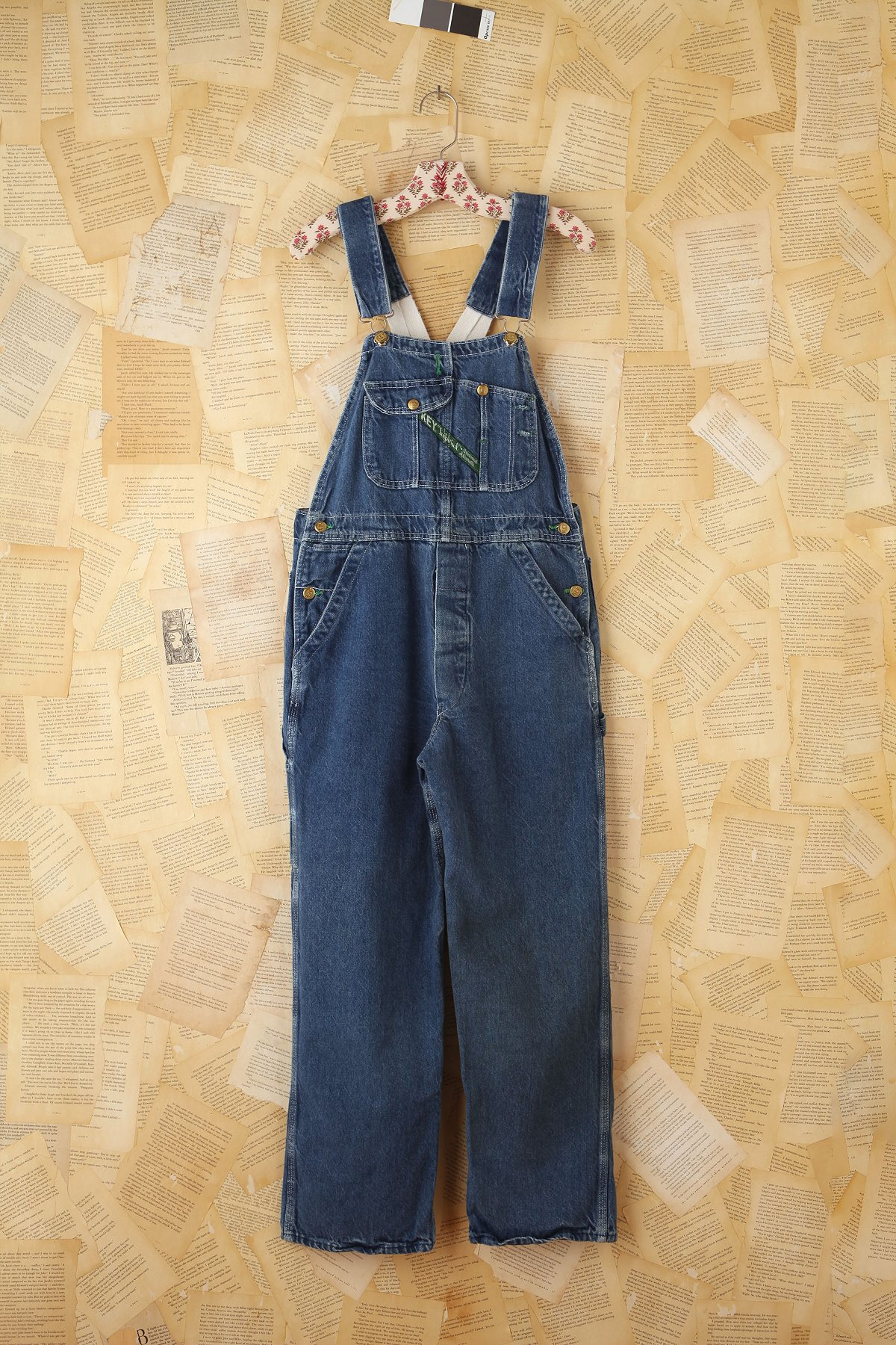 Vintage Key Denim Overalls