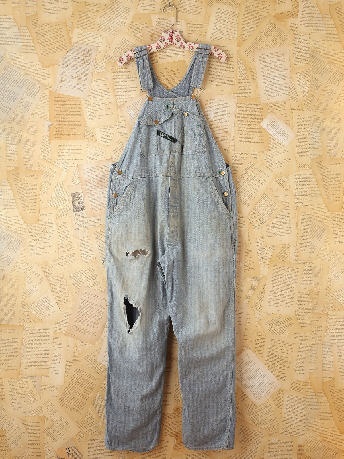 Vintage KEY Imperial Denim Overalls