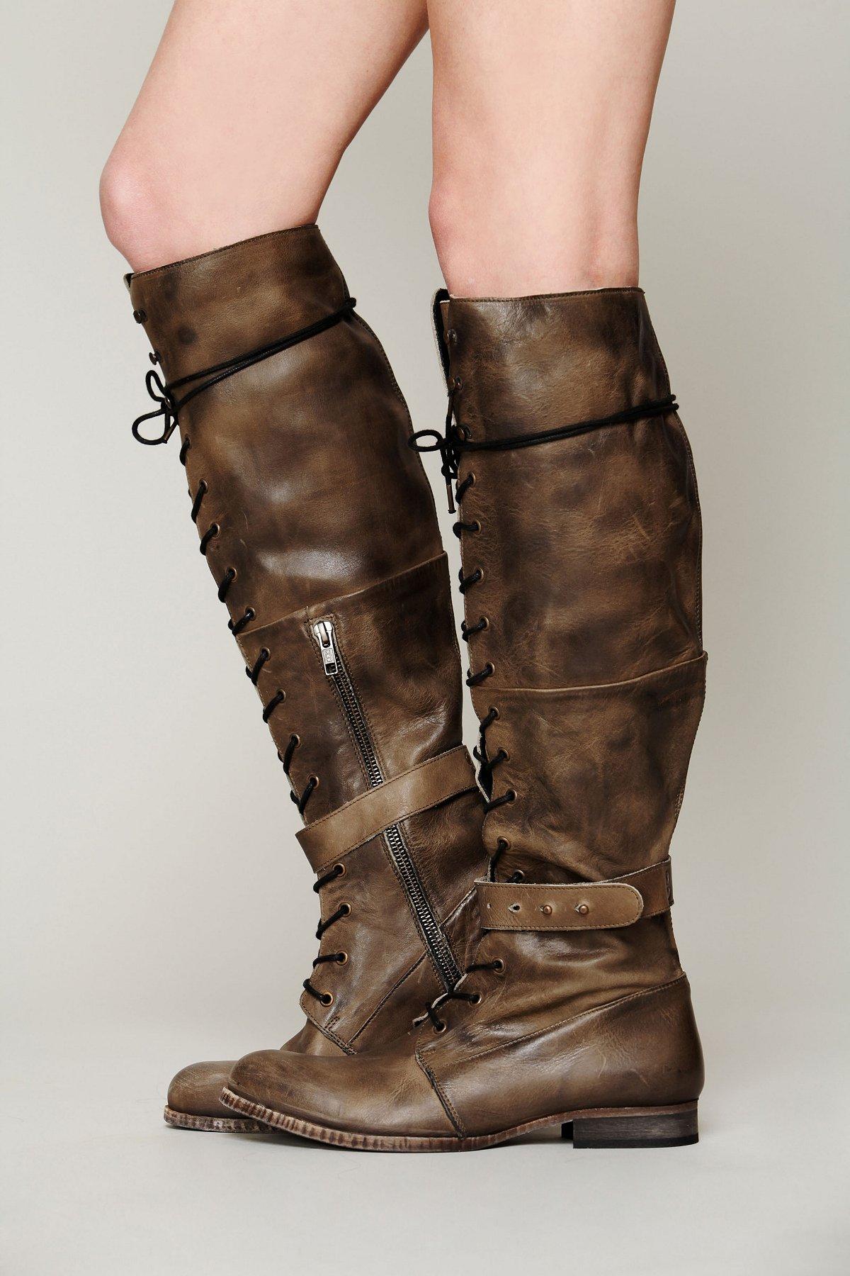 Landmark Lace Up Boot