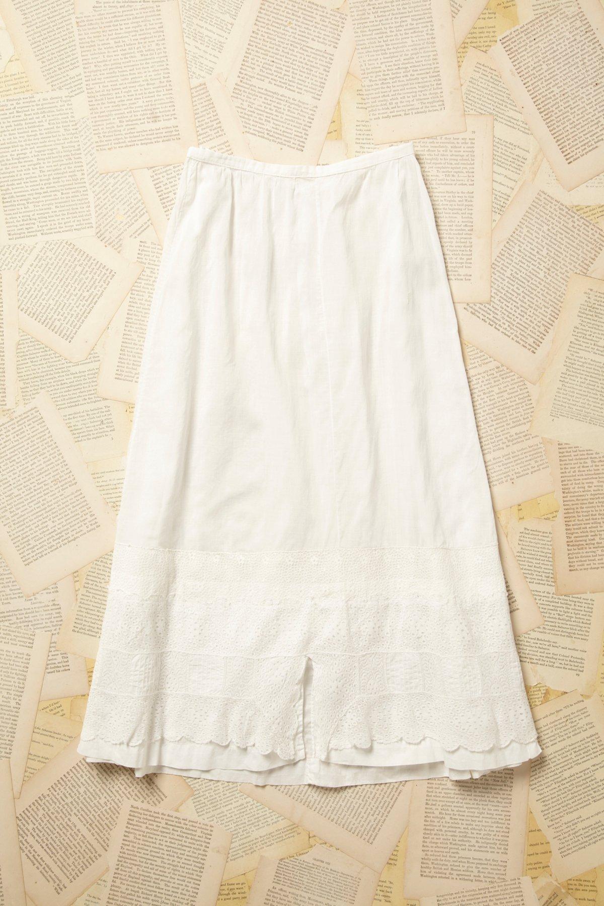 Vintage Tiered Flower Petticoat