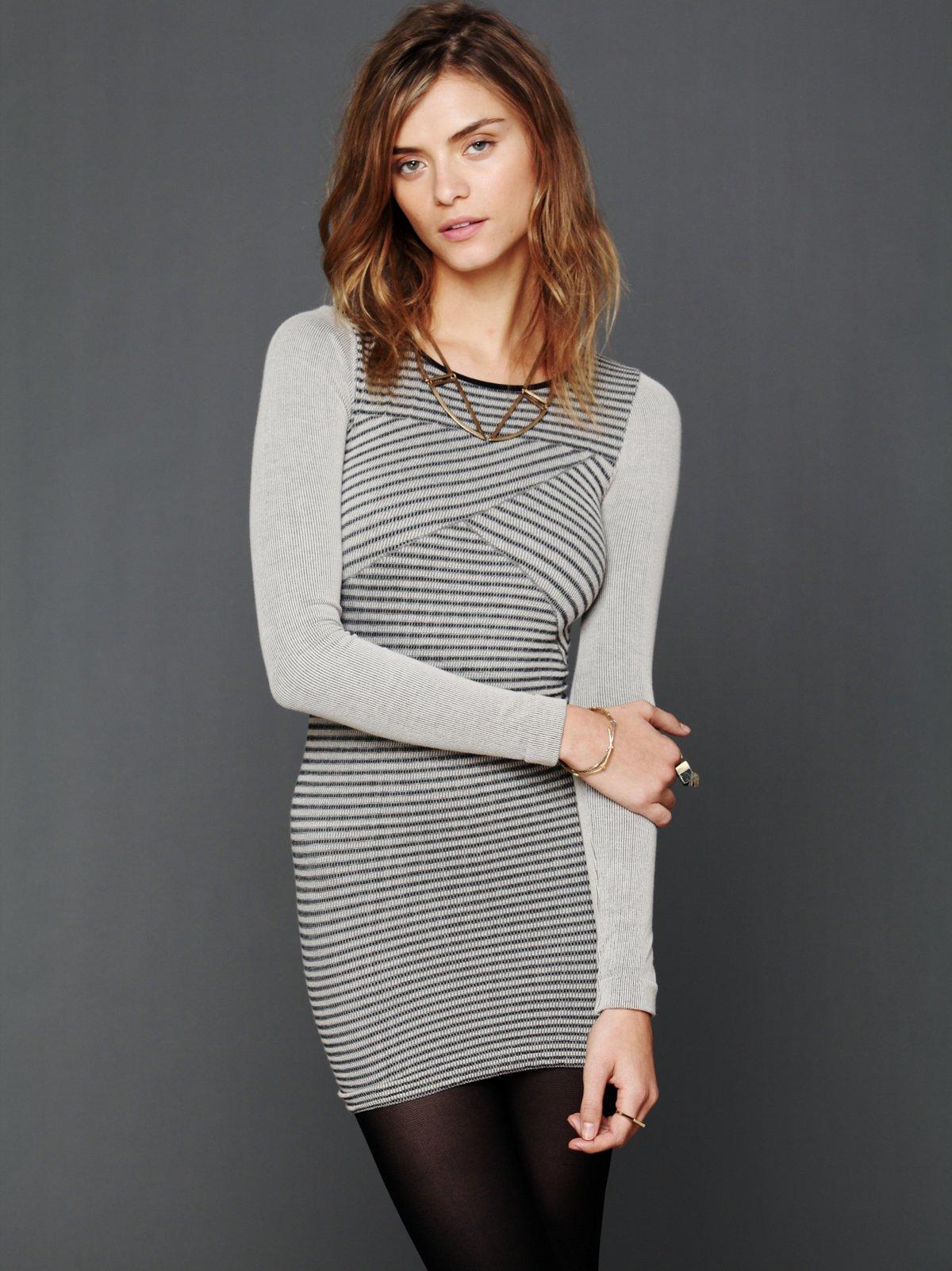 Seamless Stripe Slip