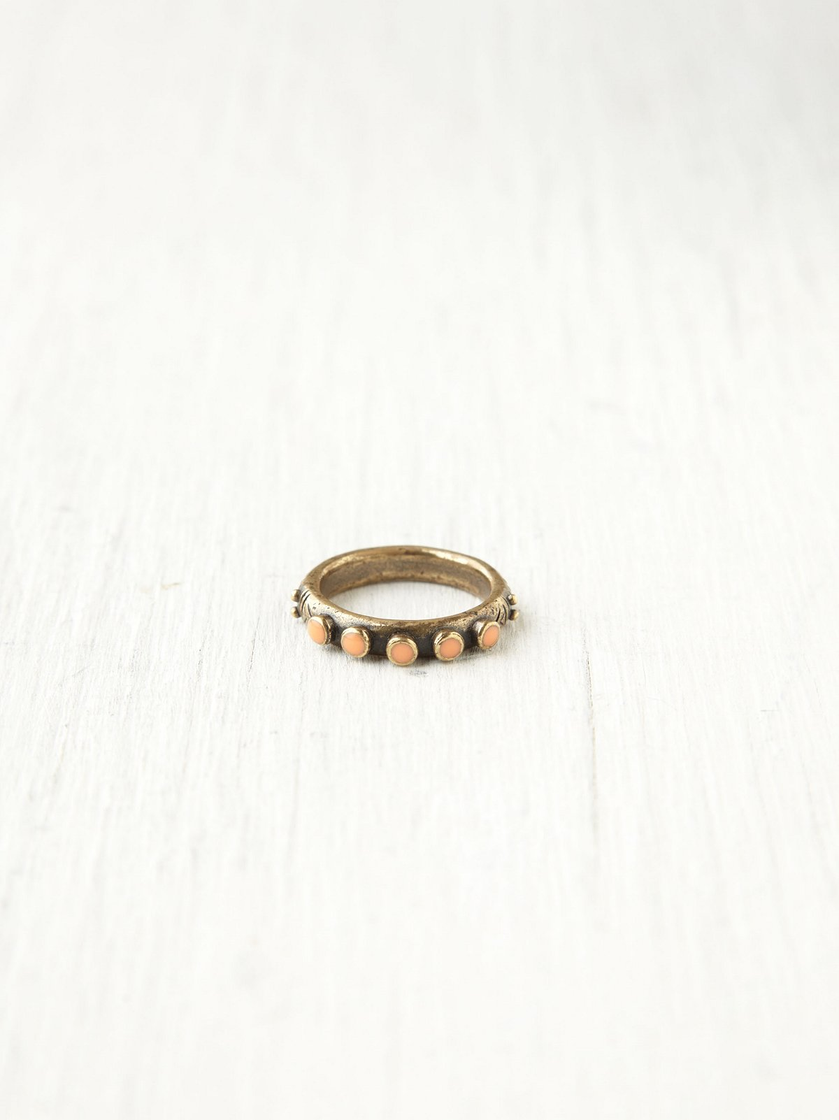 Studded Circles Ring