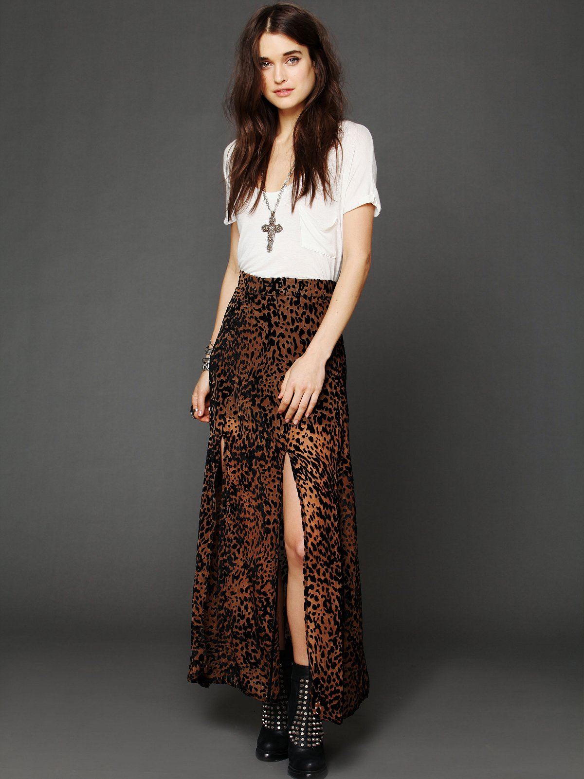 One and Only Maxi Skirt