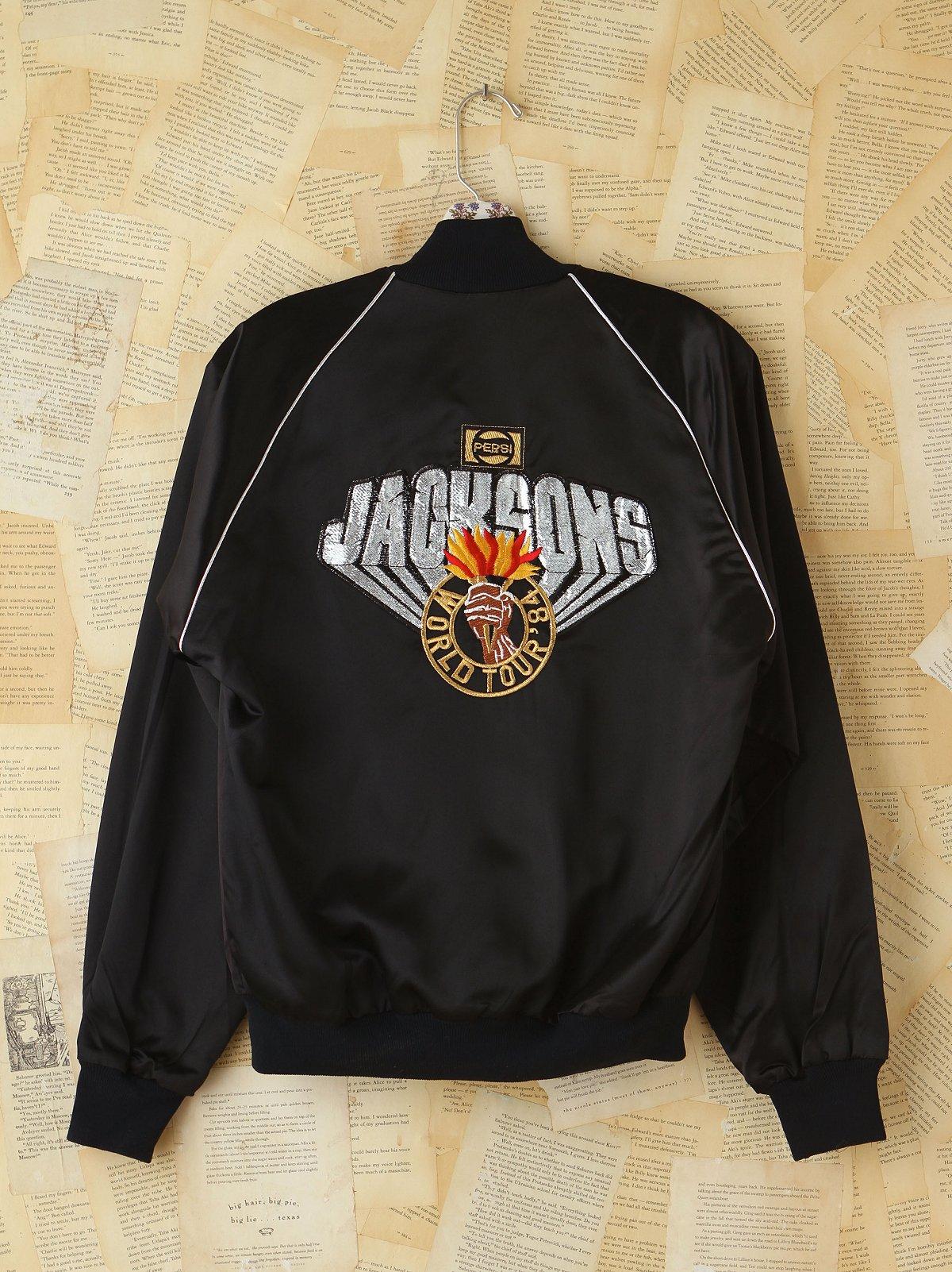 Vintage 1984 Jacksons Concert Jacket