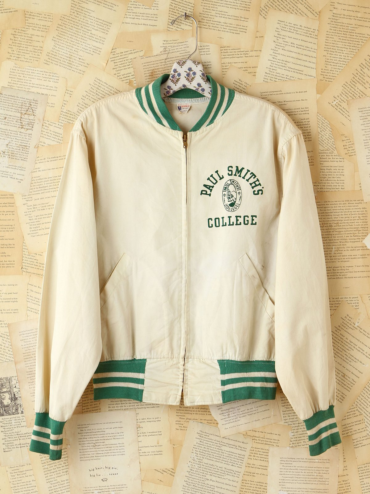 Vintage Paul Smith College Jacket