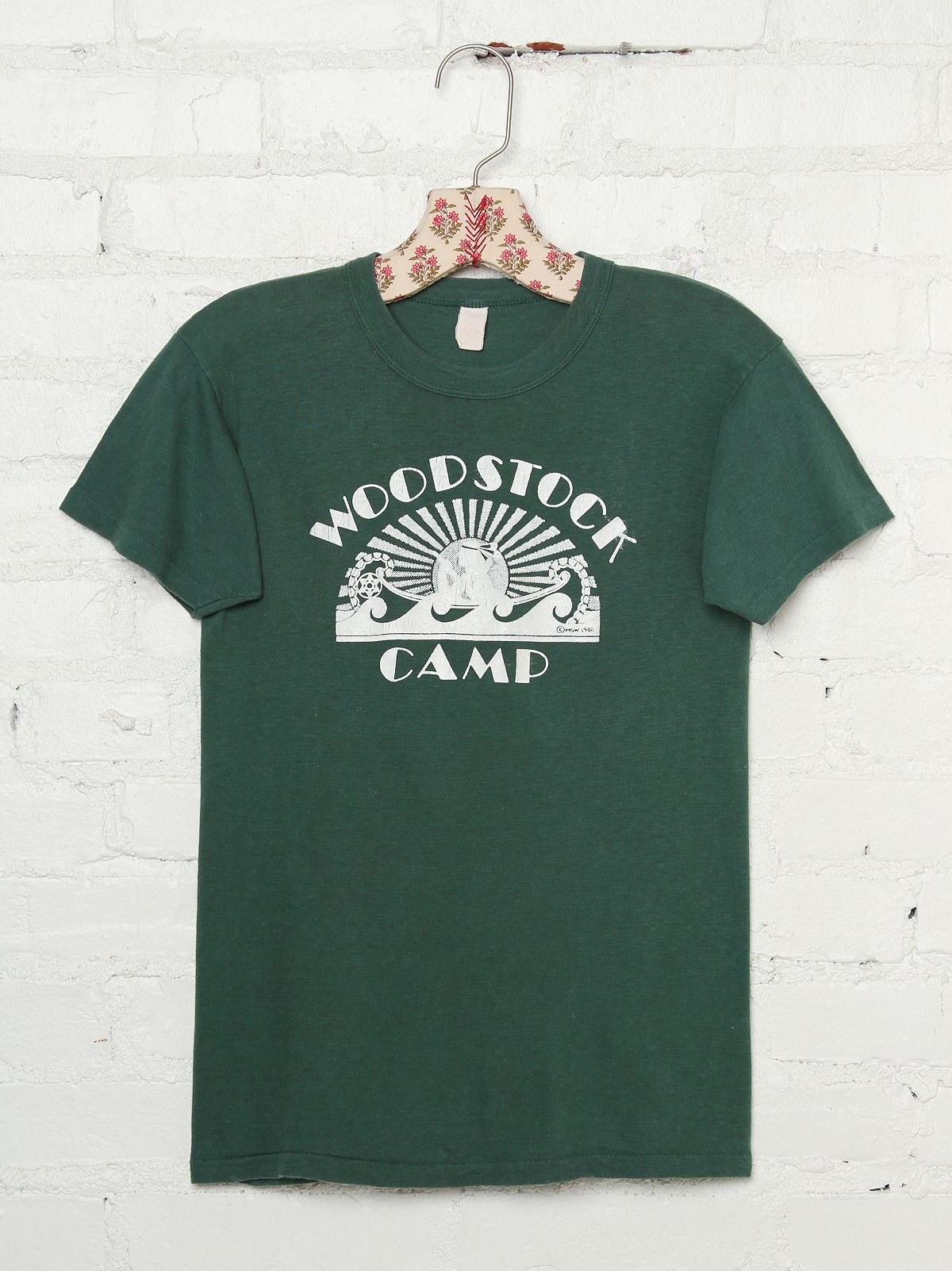 Vintage Woodstock Camp Tee