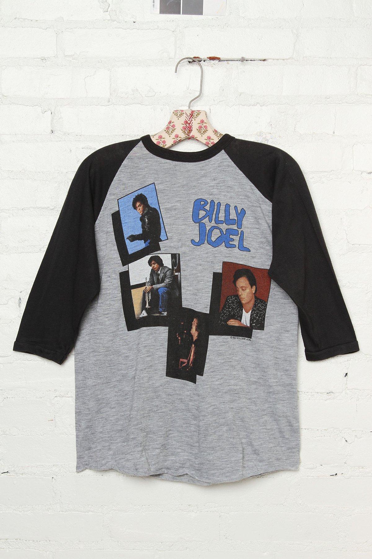 Vintage Billy Joel 1984 Tour Tee