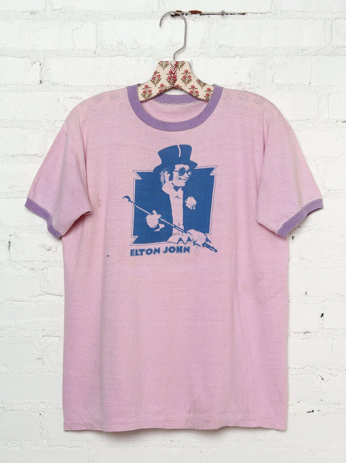 Vintage Elton John Tee