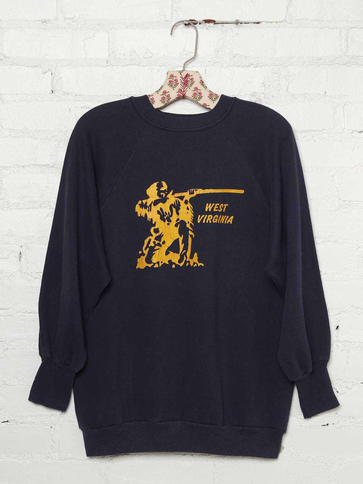 Vintage West Virginia Graphic Pullover