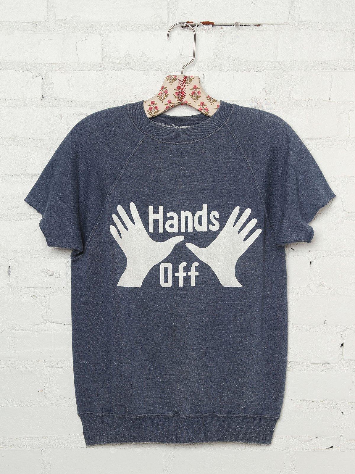 Vintage Hands Off Sweatshirt