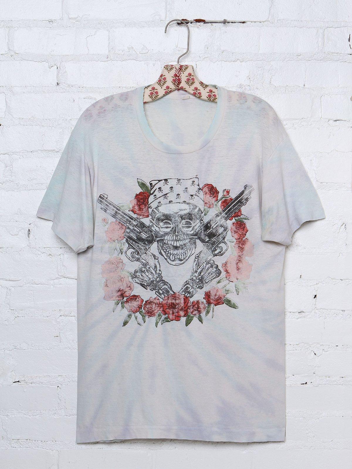 Vintage Guns N' Roses Tie Dye Tee