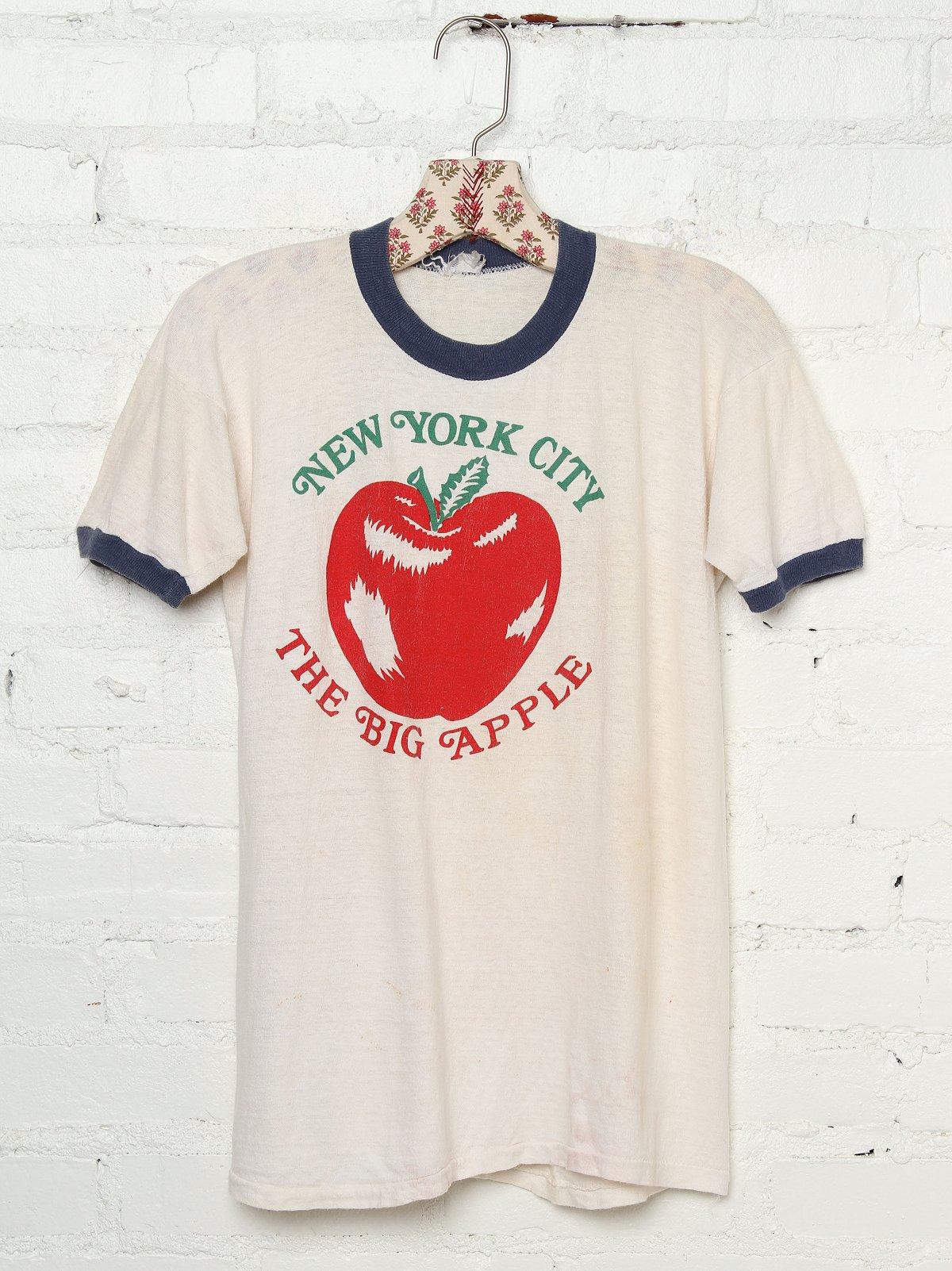 Vintage NYC The Big Apple Tee