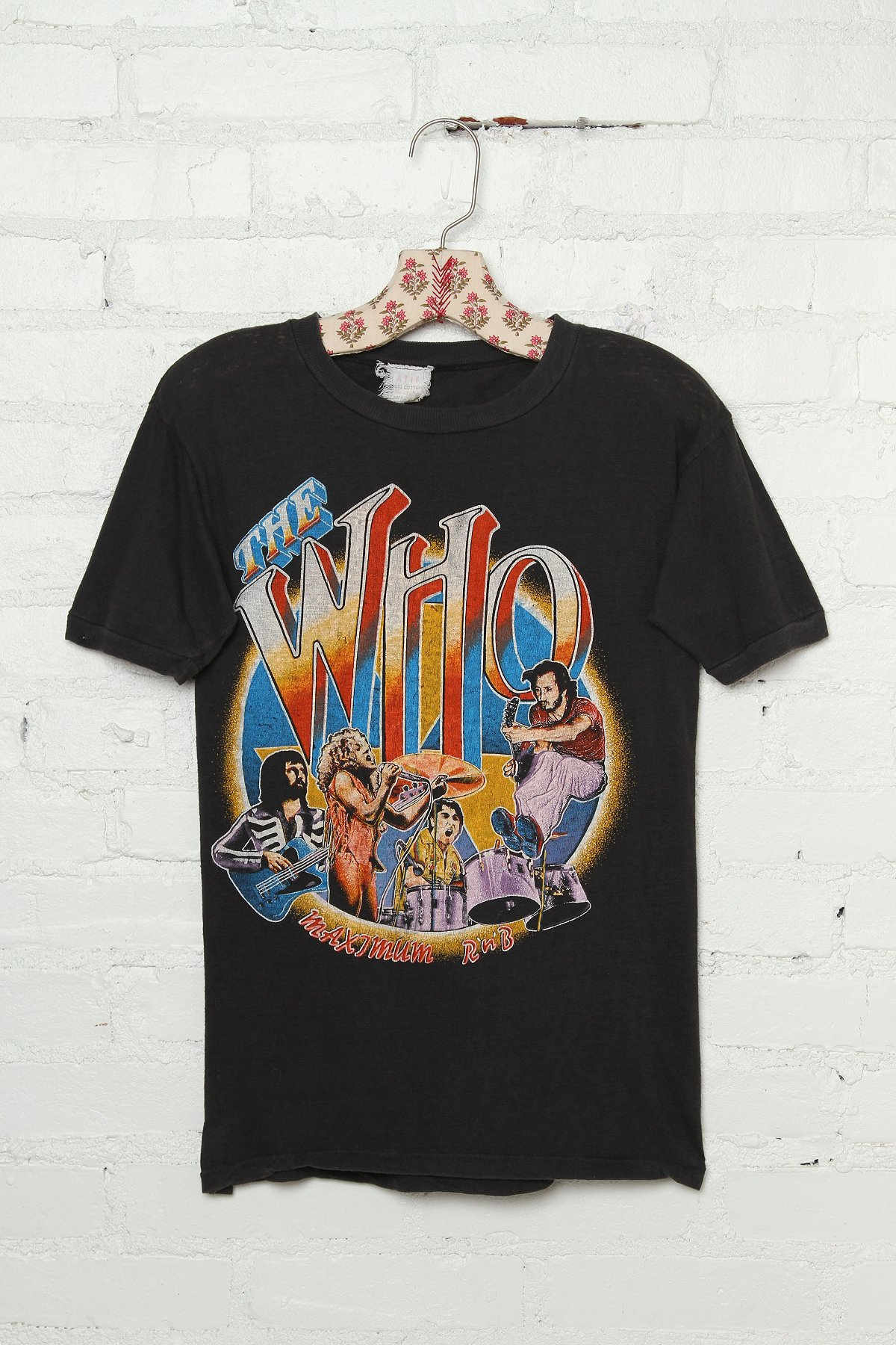 Vintage The Who 1979 Rock Tee