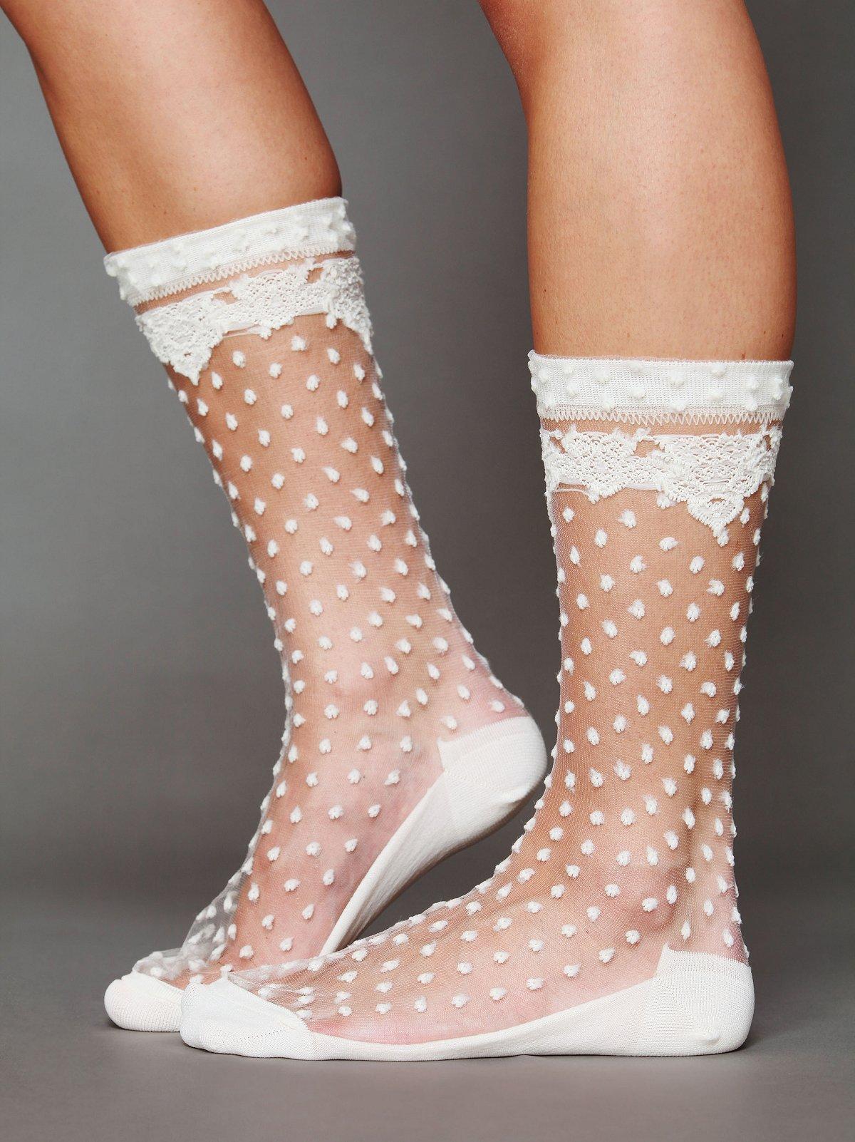 Lily Dot Sock