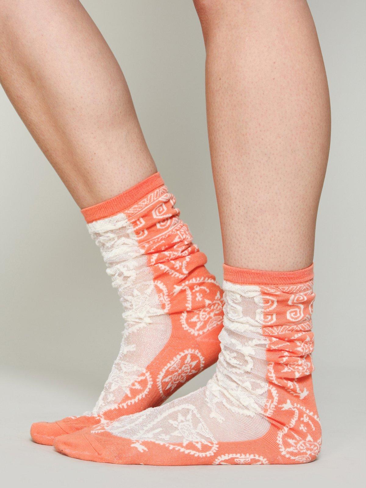 Hayes Paisley Sock