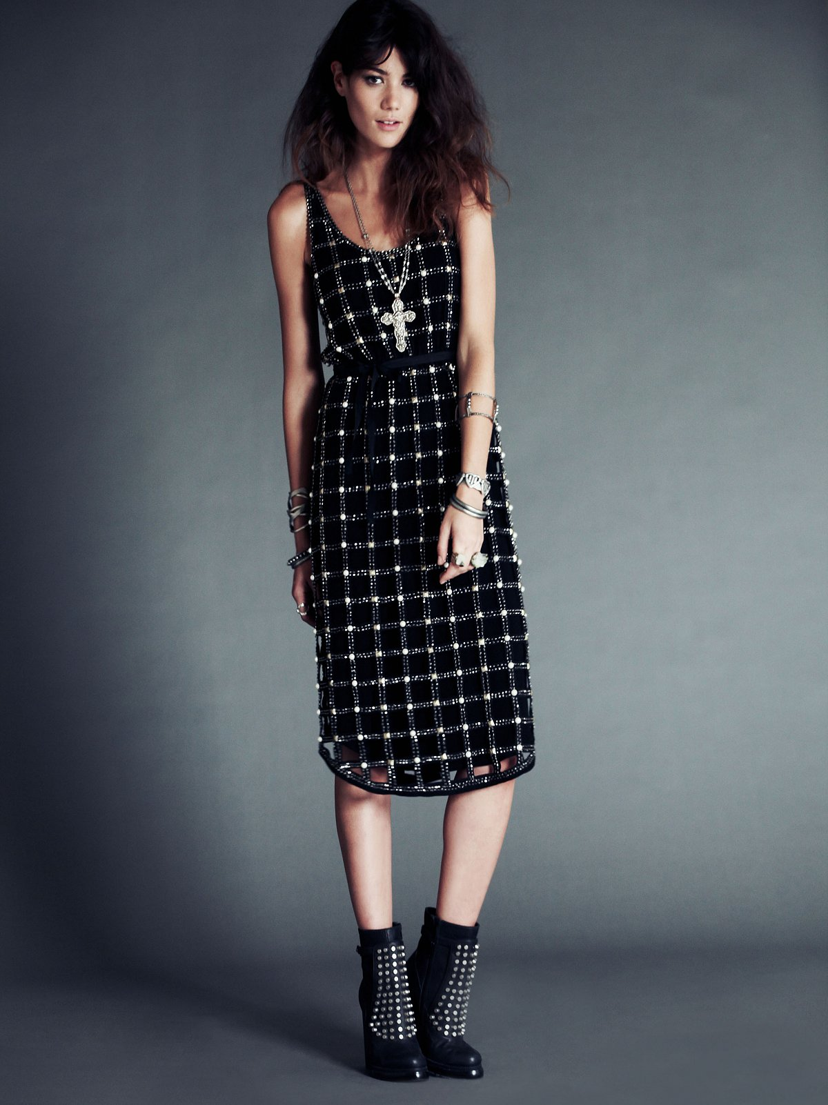 FP New Romantics Material Girl Lattice Dress