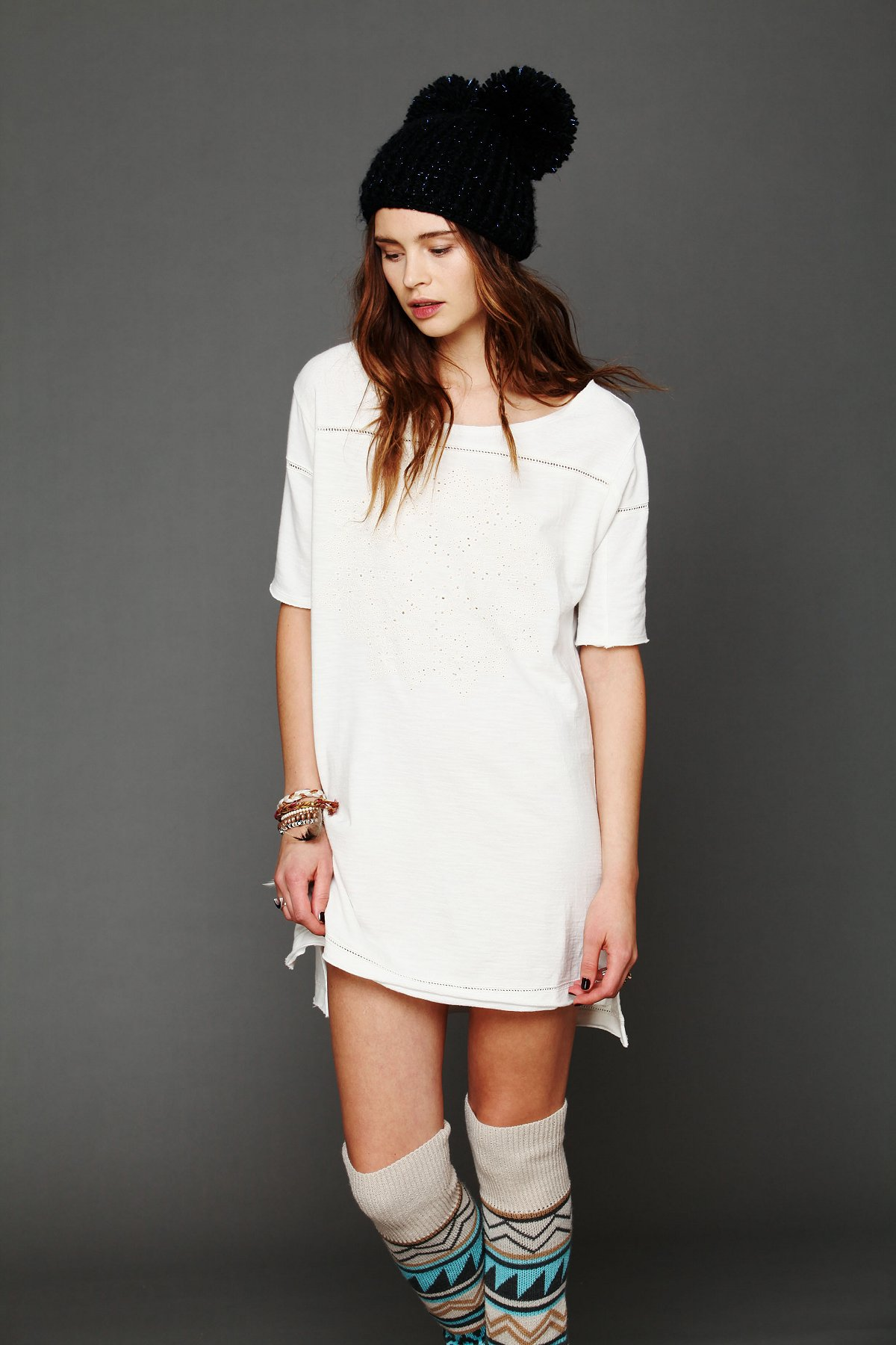 Cutwork French Terry Tee