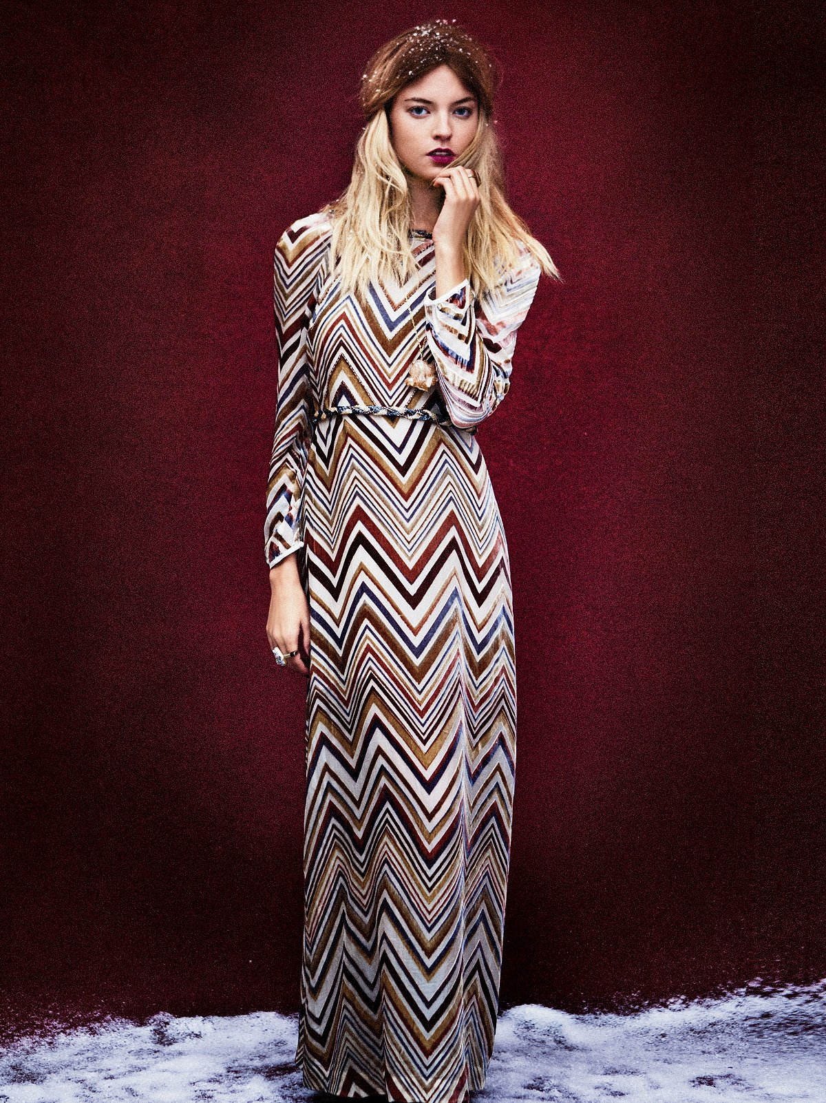 Mirror Reflection Maxi