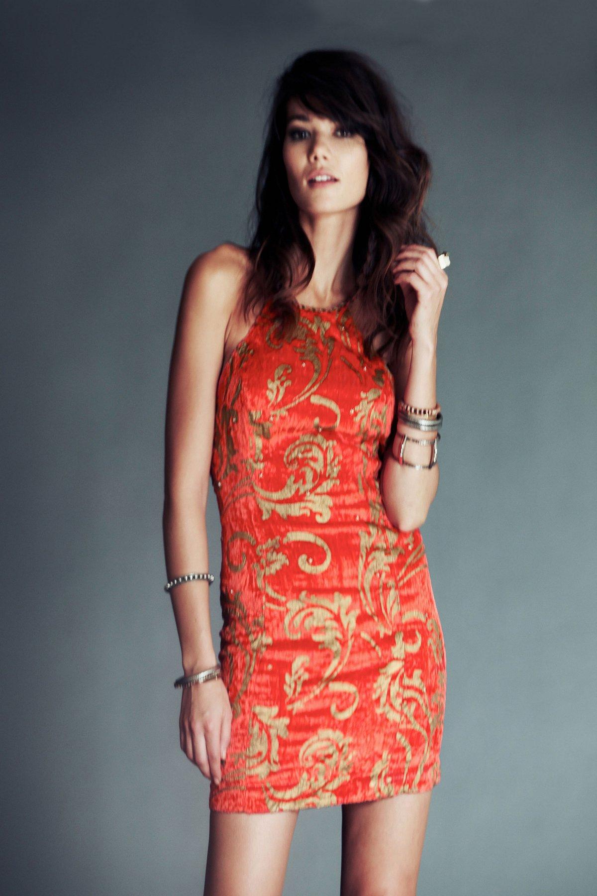 Velvet Crush Bodycon Dress