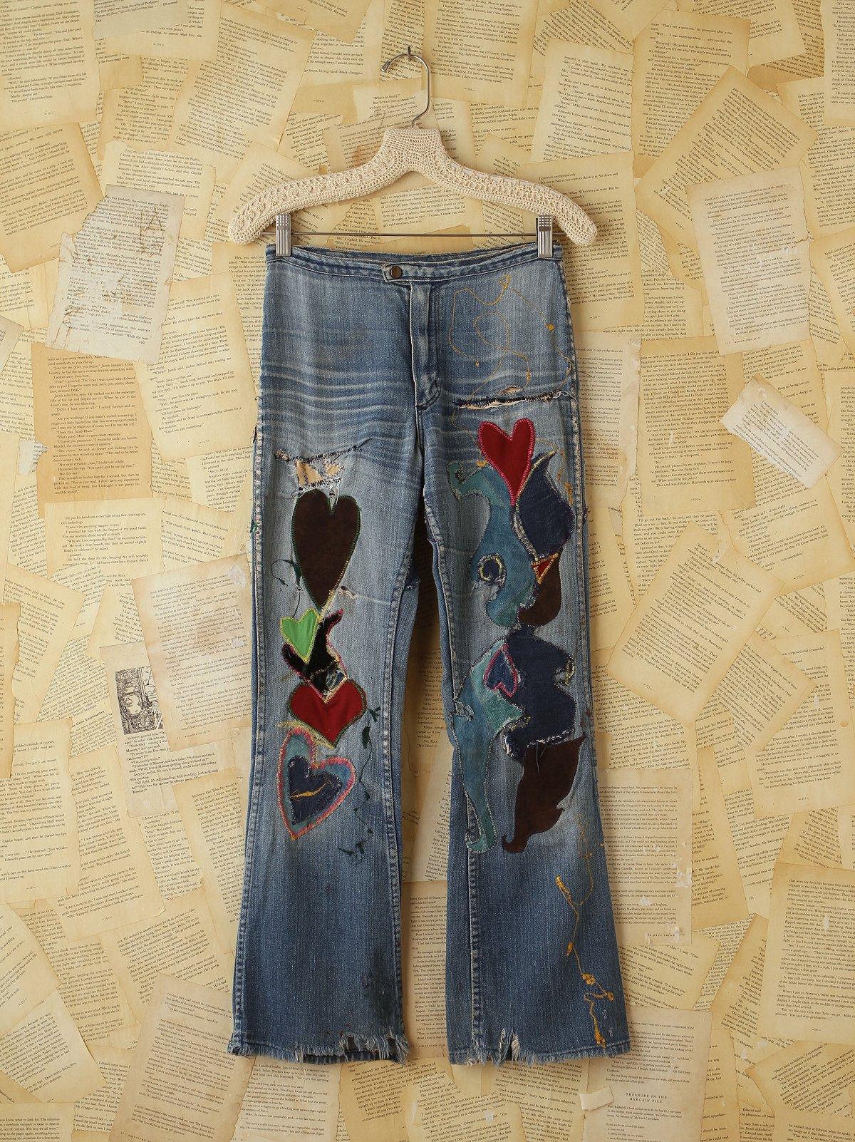 Vintage Wrangler Patchwork Jeans
