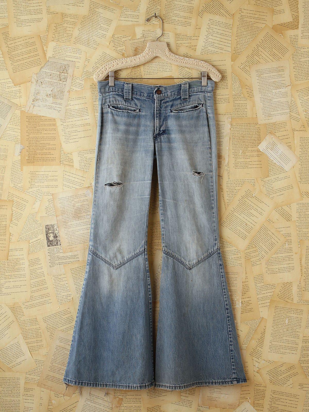 Vintage Wide Flare Jeans