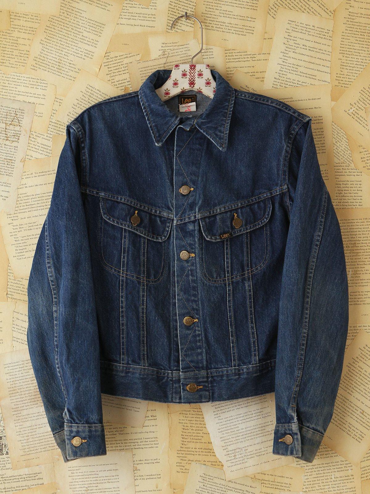 Vintage Lee Denim Jacket