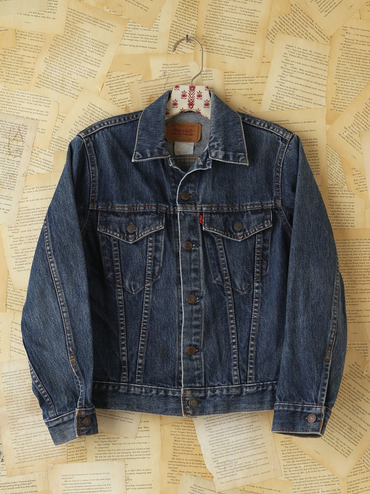 Vintage Levi's Distressed Denim Jacket