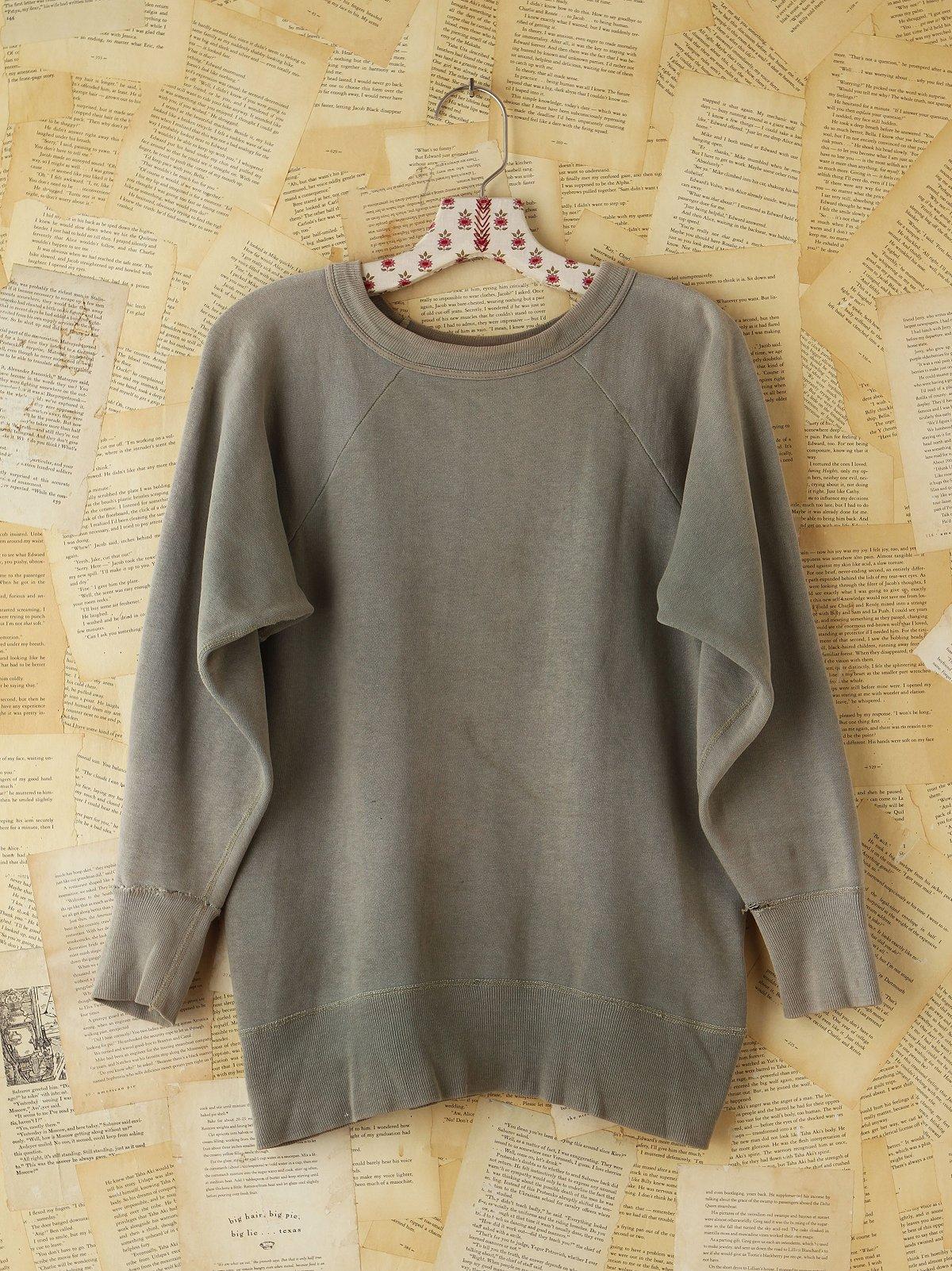 Vintage Army Sweatshirt