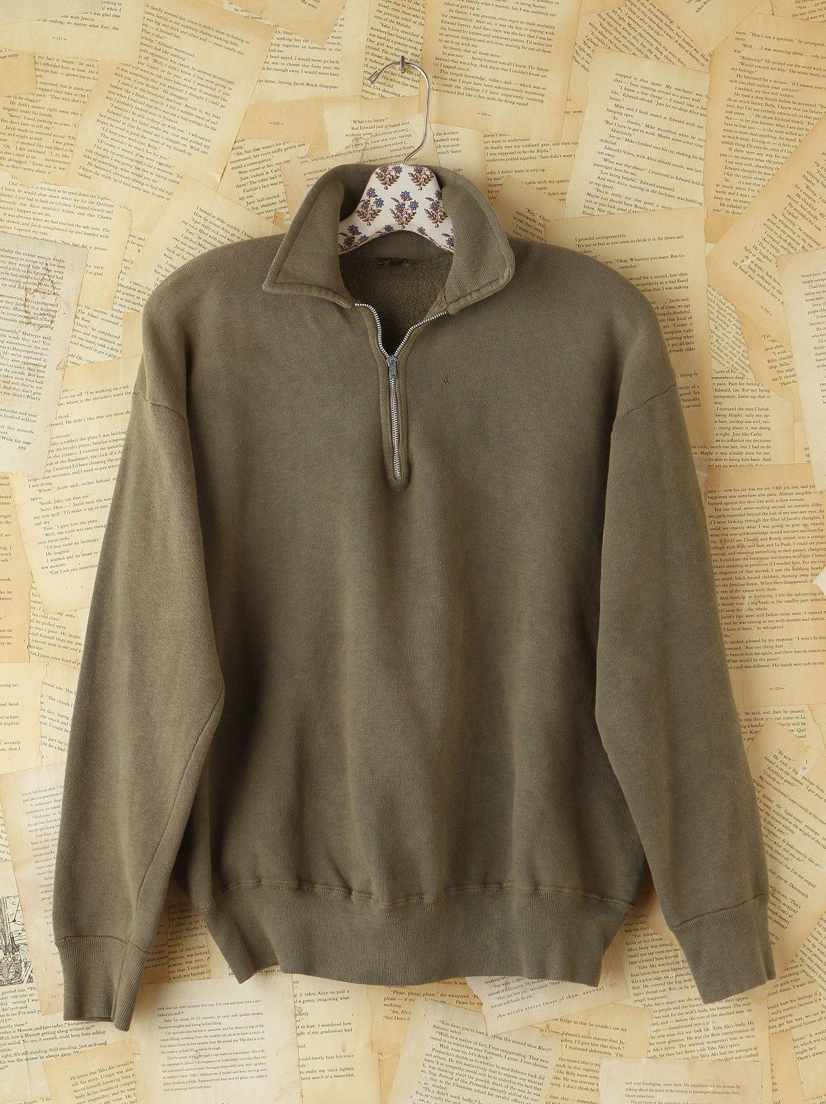 Vintage 1950s Green Sweatshirt