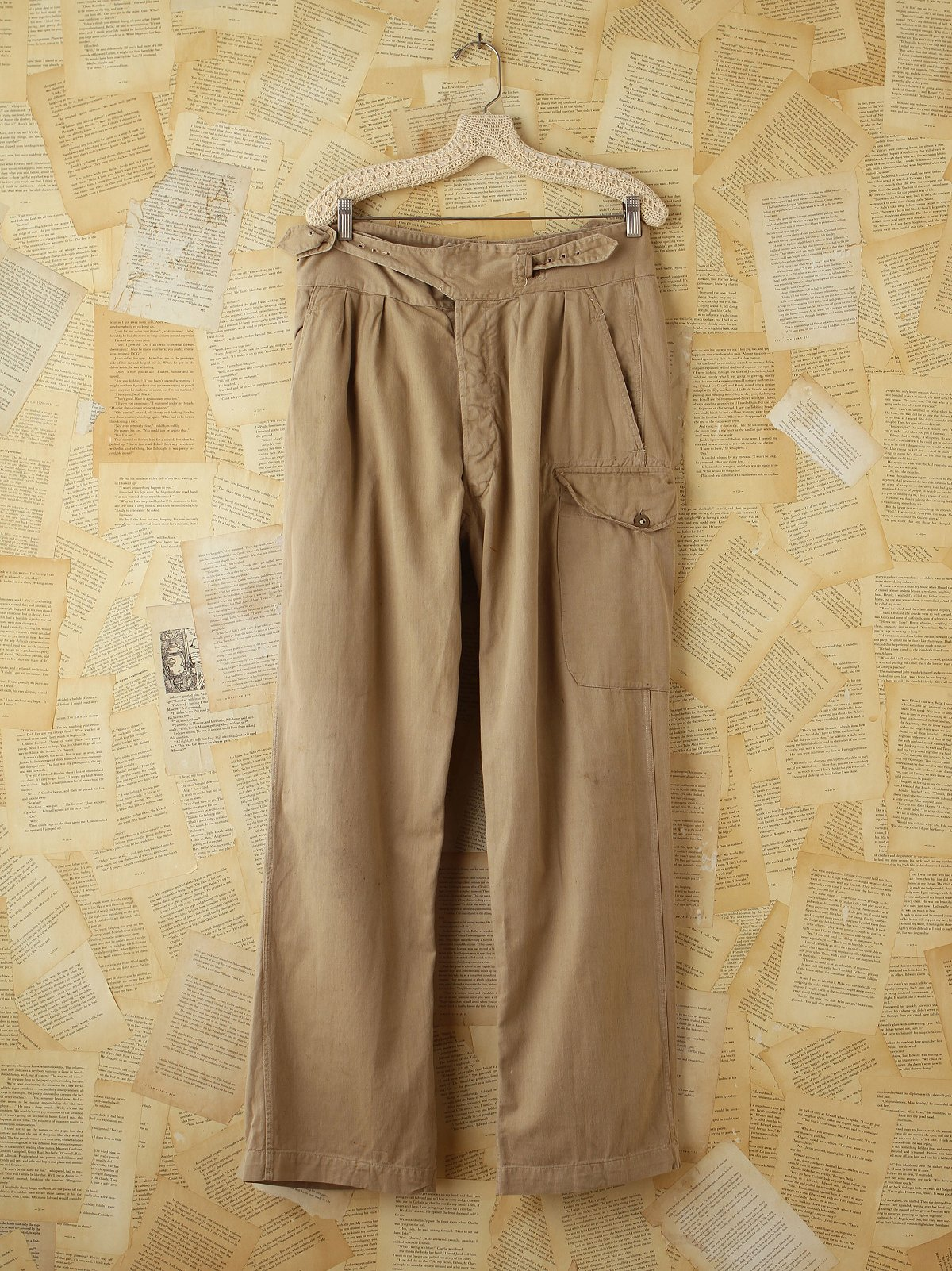 Vintage Khaki Army Pants