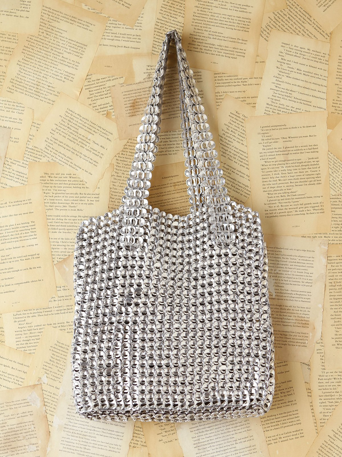 Vintage Soda Pop Tab Chainmail Bag