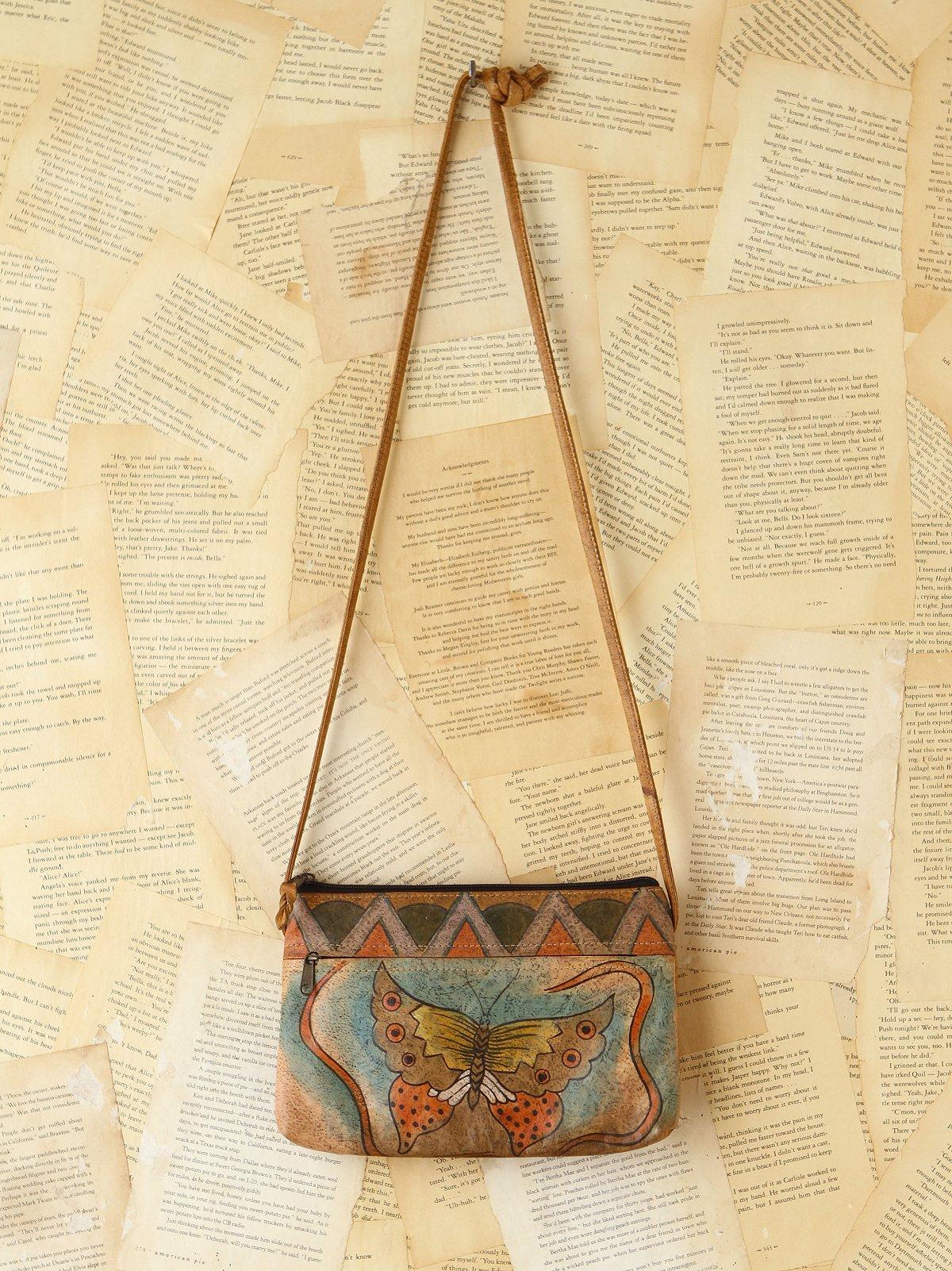 Vintage 1980s Emily Anne Handpainted Bag