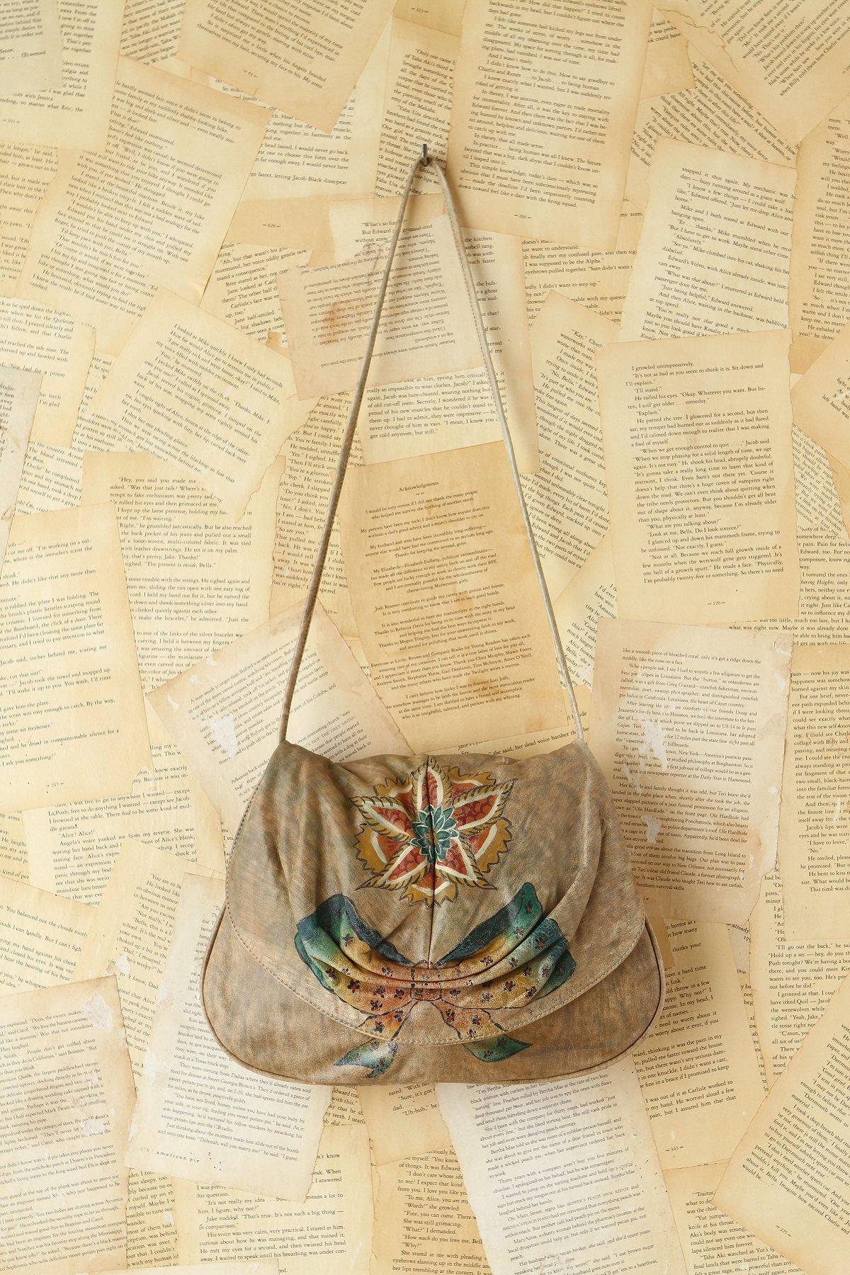 Vintage Handpainted Bag