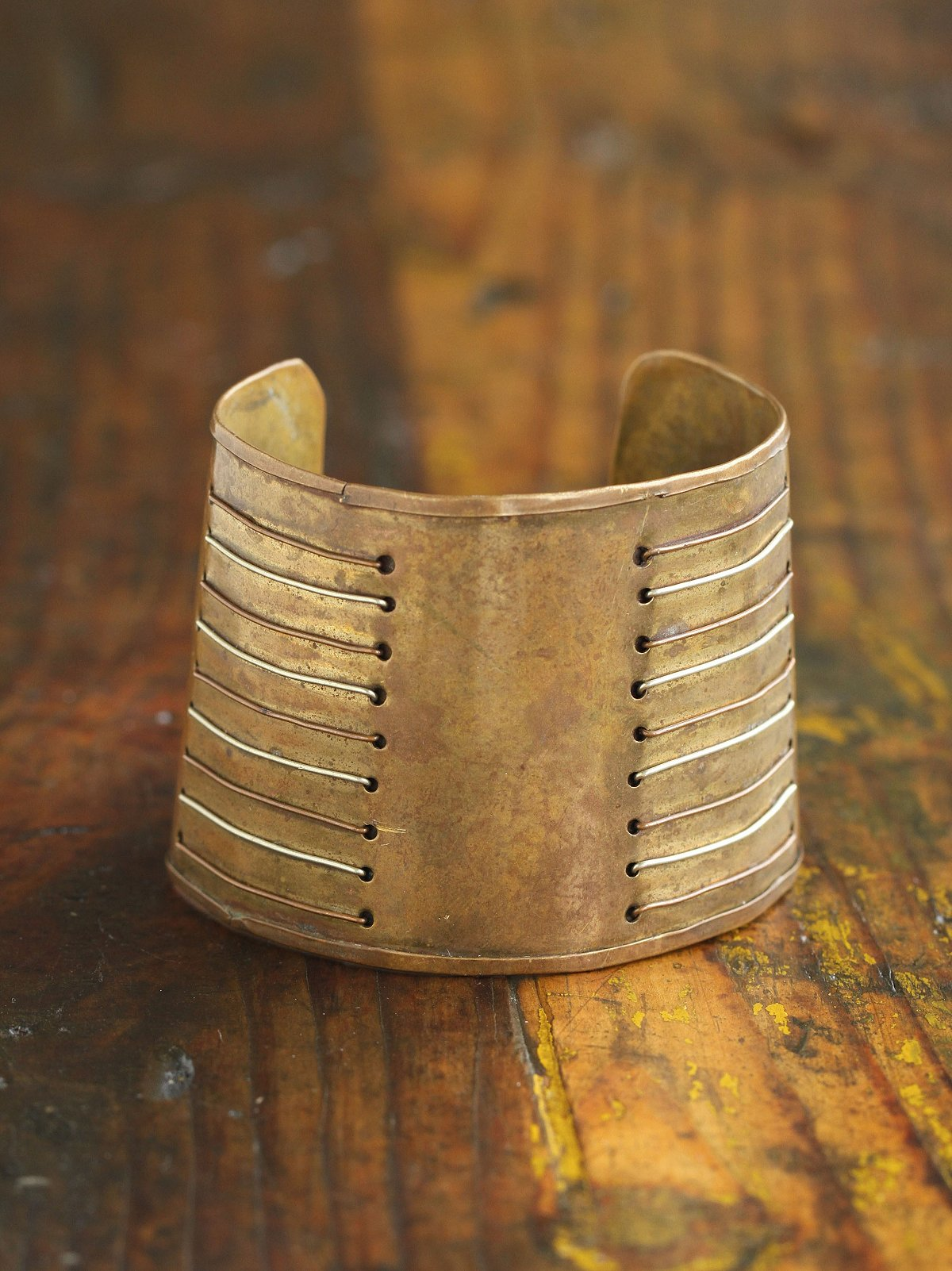 Vintage Gold Toned Cuff