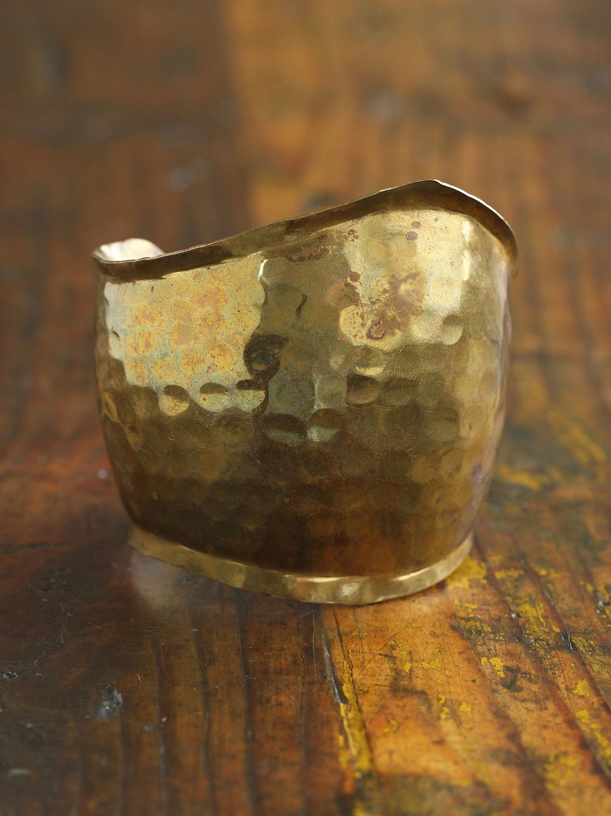 Vintage Gold-Toned Cuff