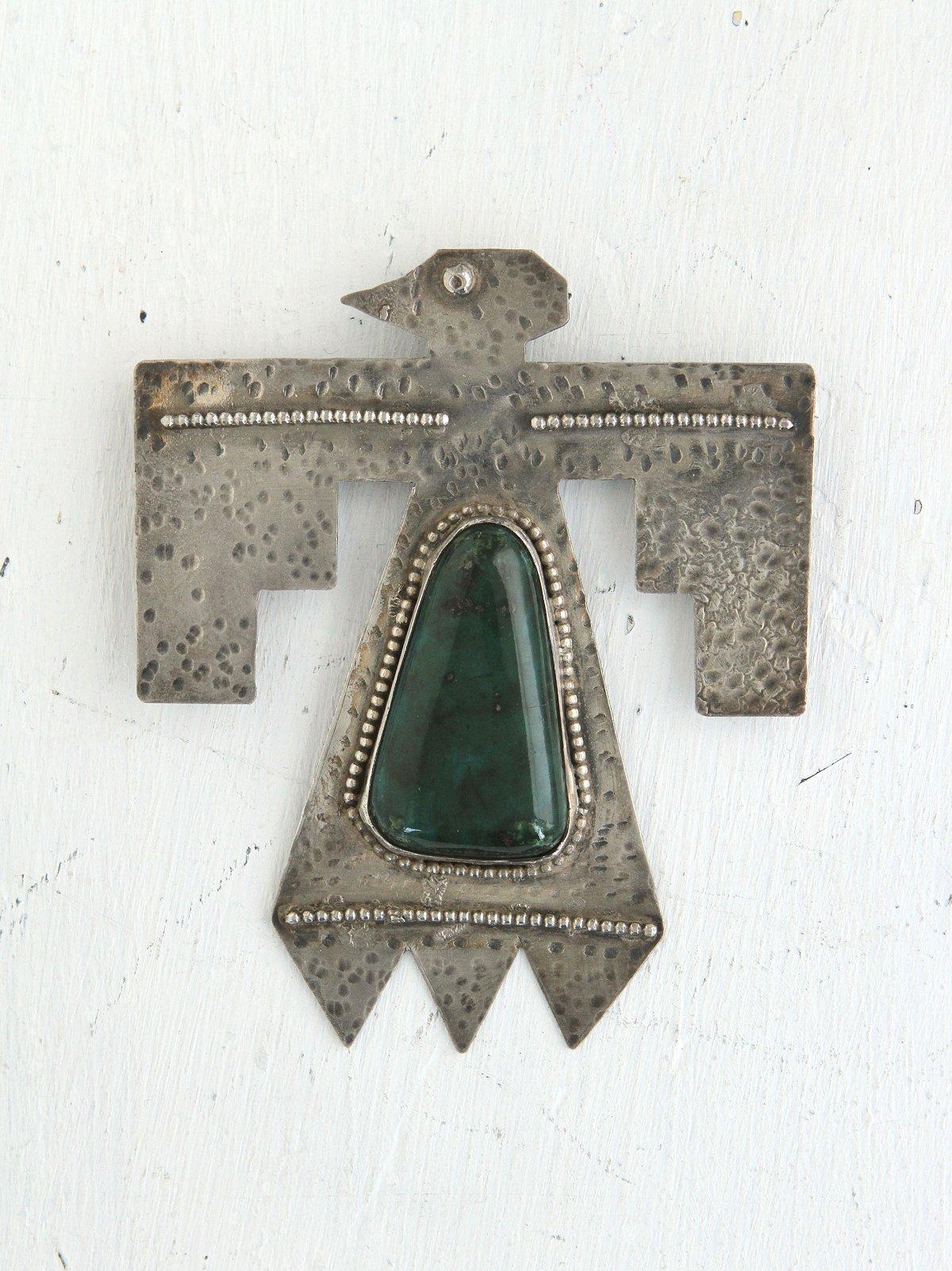 Vintage Thunderbird Pin