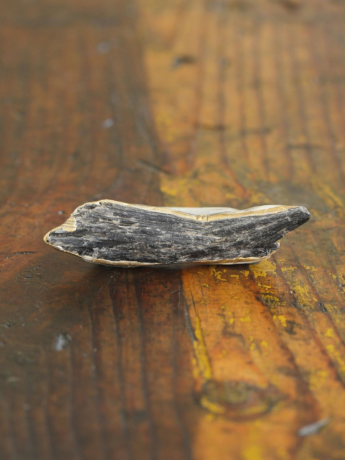 Vintage Inspired Handcrafted Fossil Ring