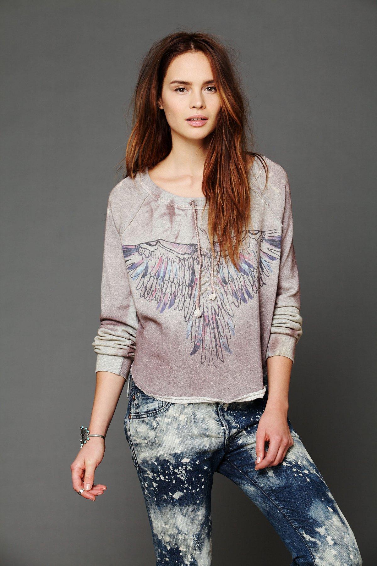 Graphic Pullover