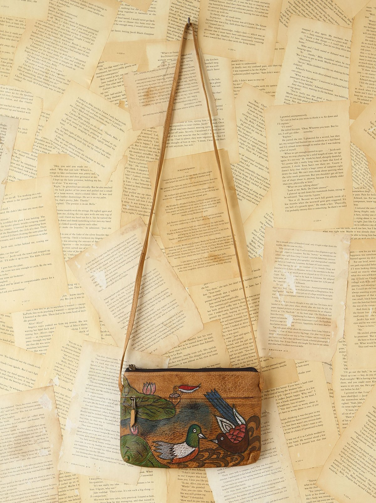 Vintage 1980s Emily Ann Painted Bag