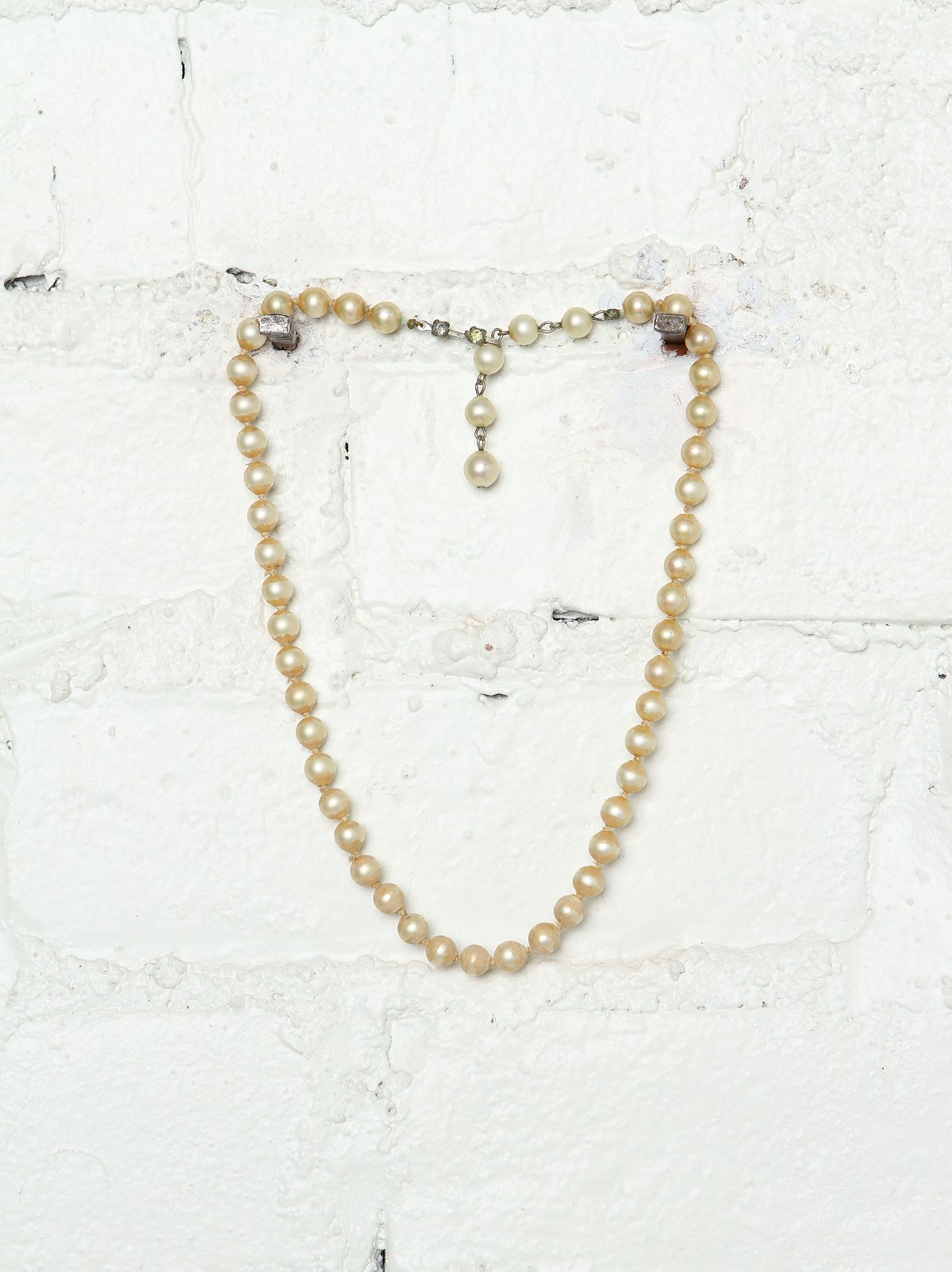 Vintage Costume Pearl Necklace
