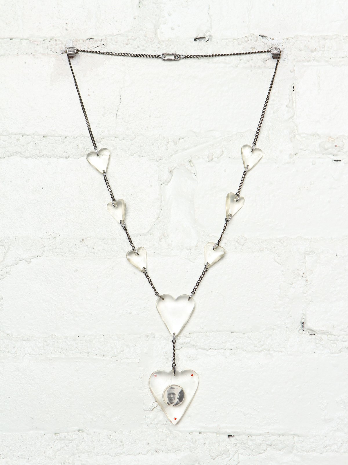 Vintage Sweetheart Necklace