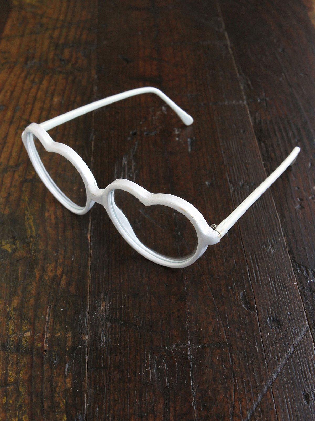 Vintage Heart Glasses