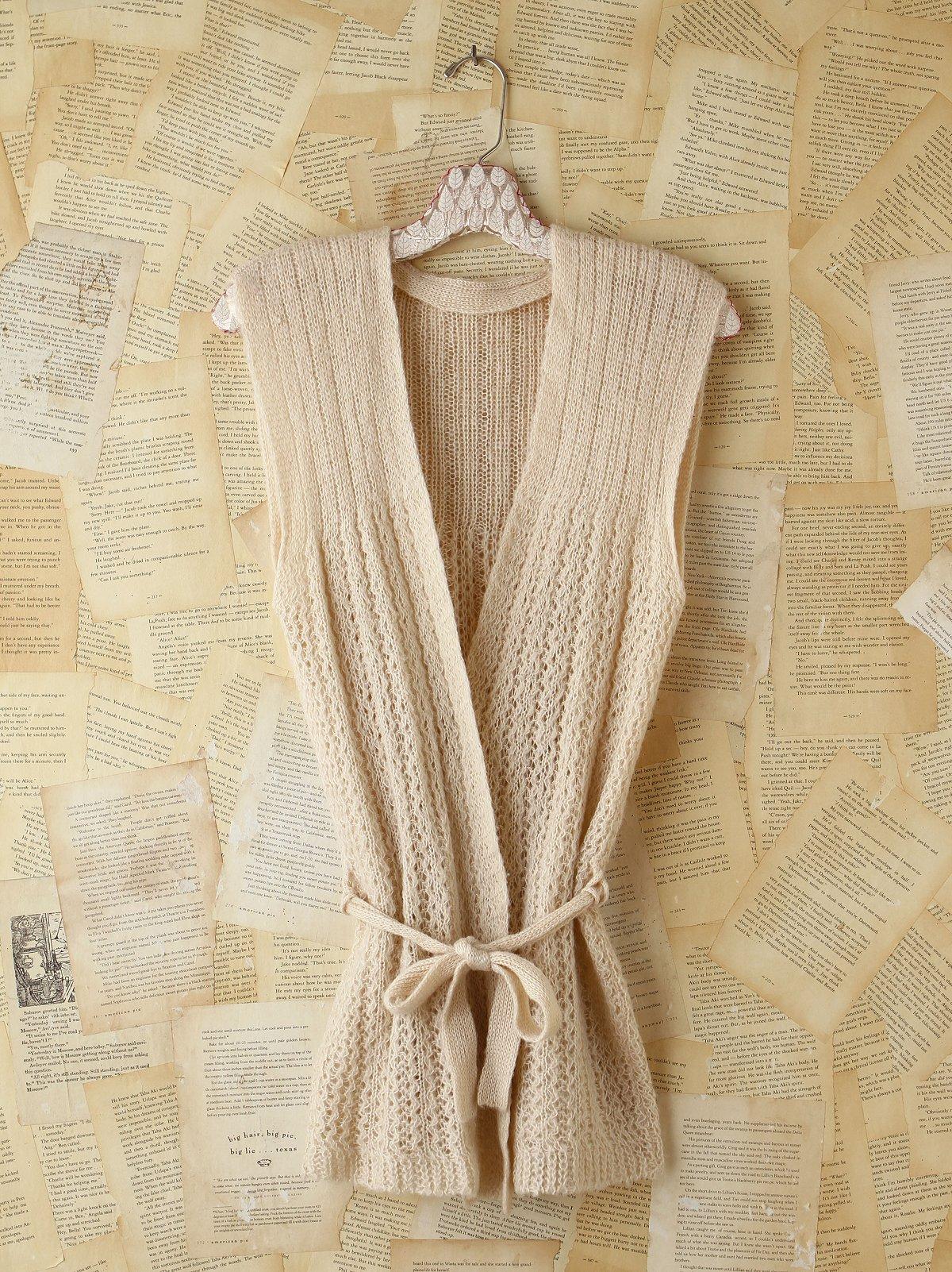 Vintage Knitted Sweater Vest