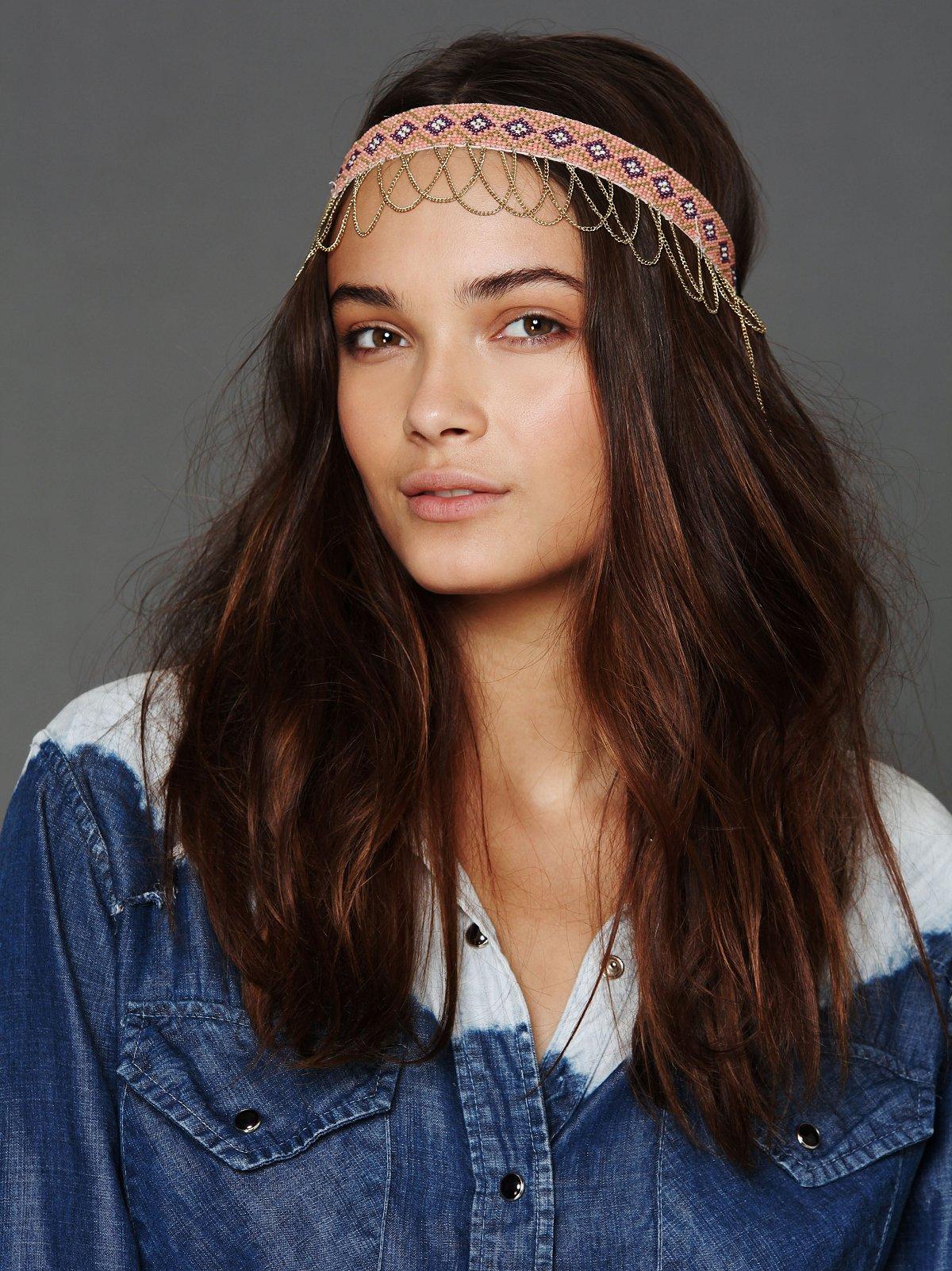 Beaded Chain Headband