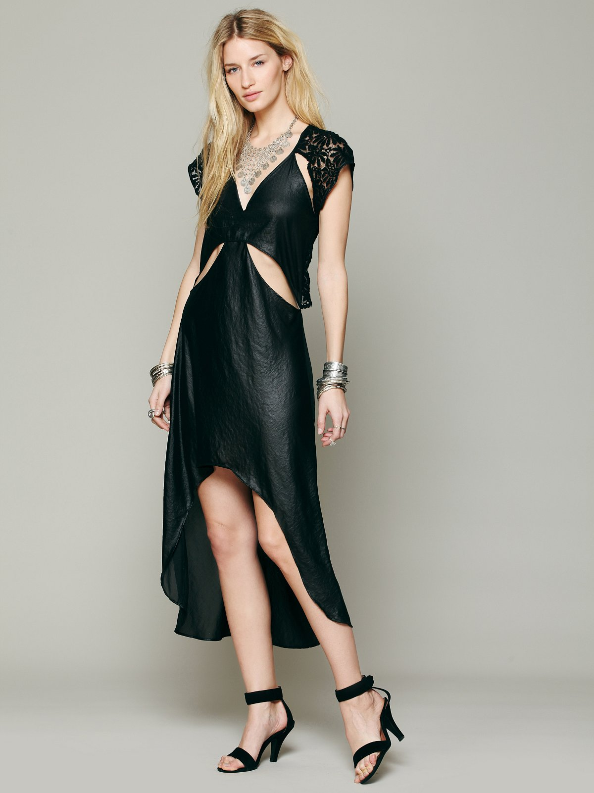 Castaway Cap Sleeve Dress