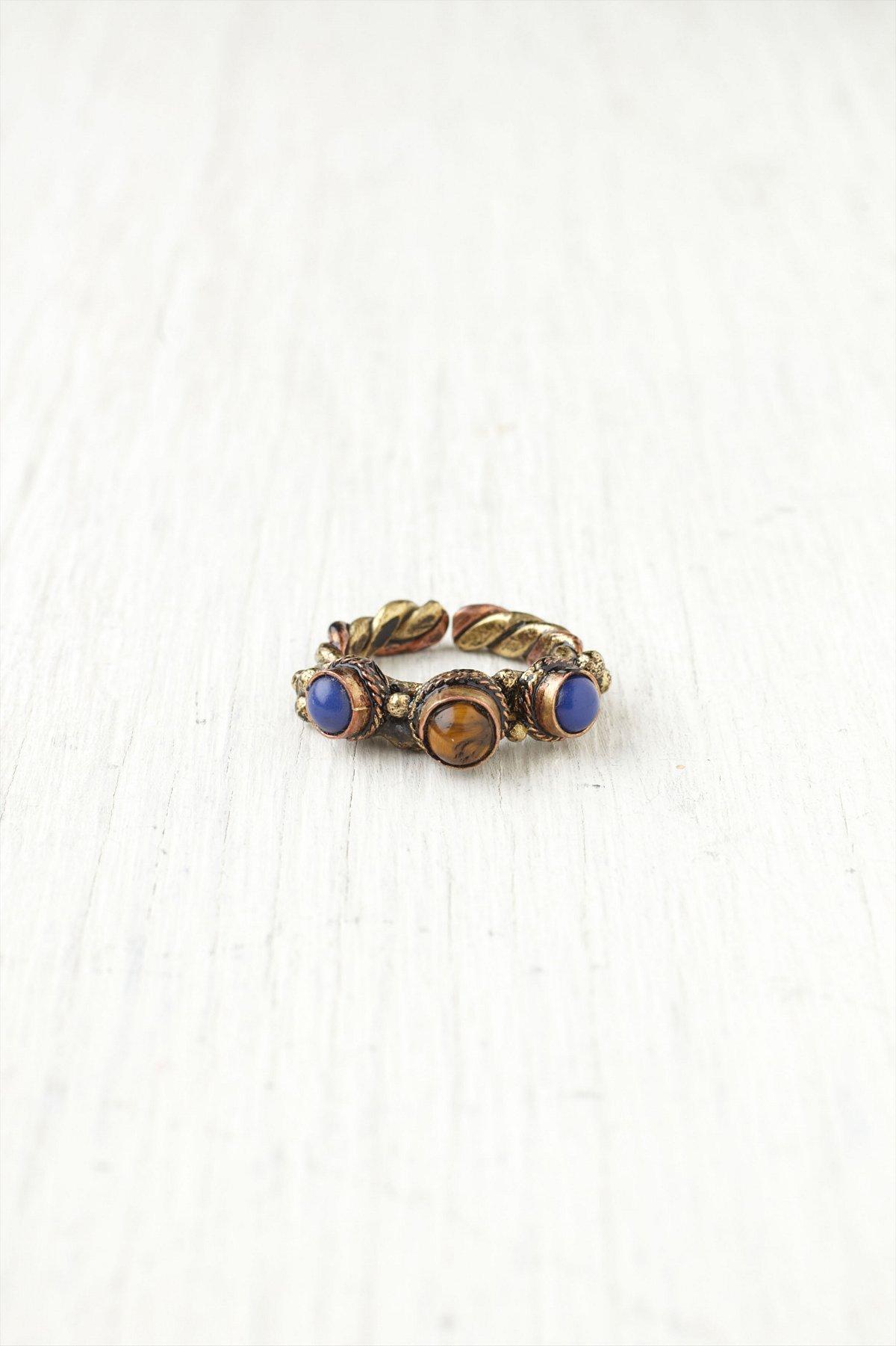 Trio Stone Ring