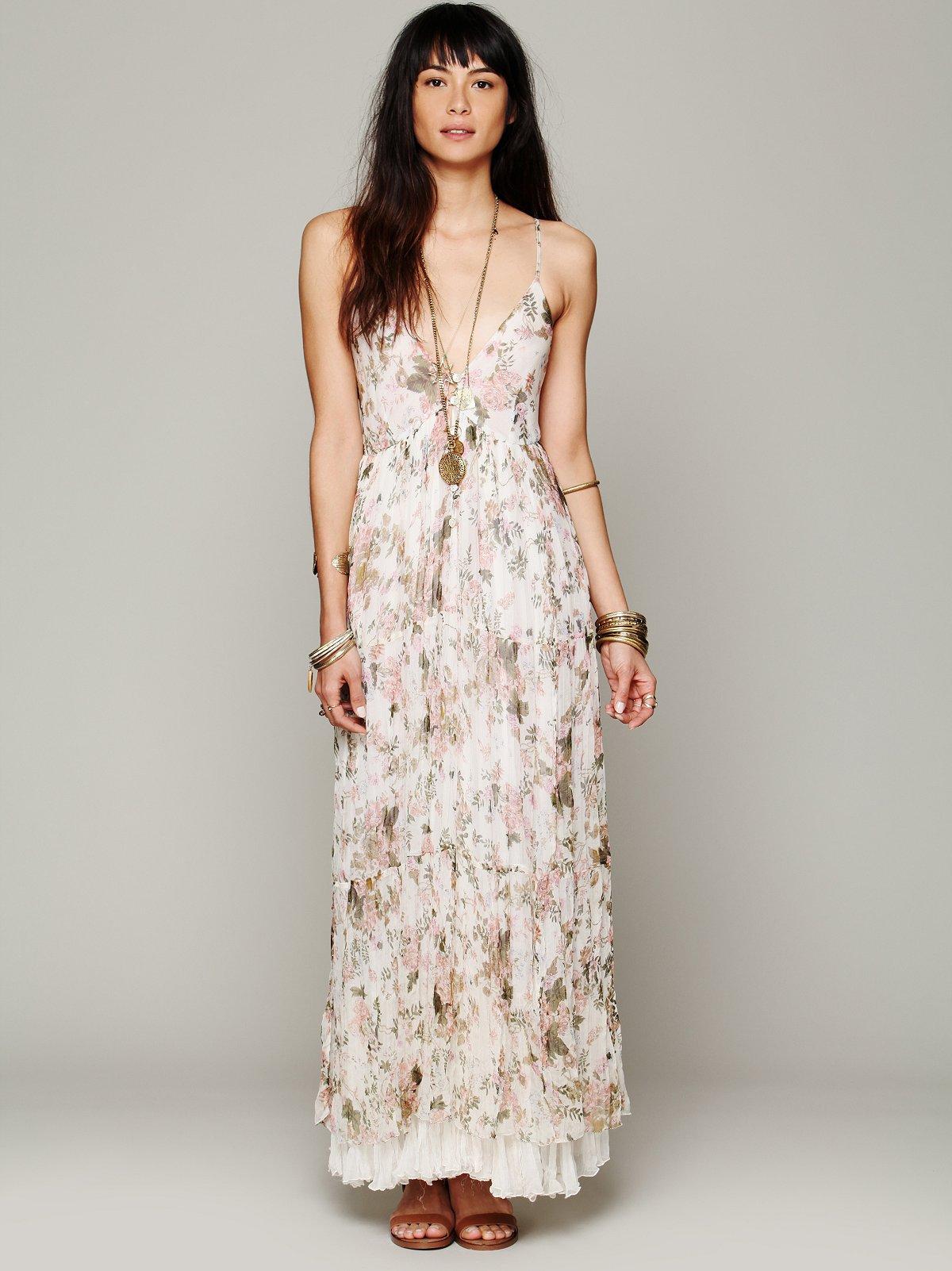 Heidi Printed Floral Dress