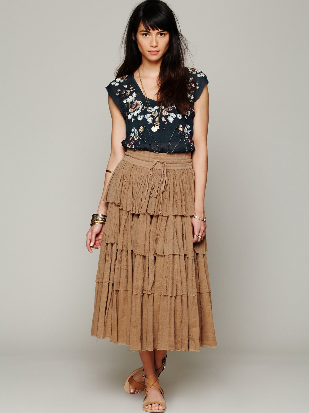 Amy Tiered Skirt