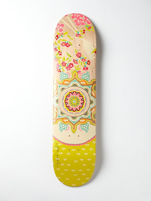 Product Image: Limited Edition Free People Printed Skateboard