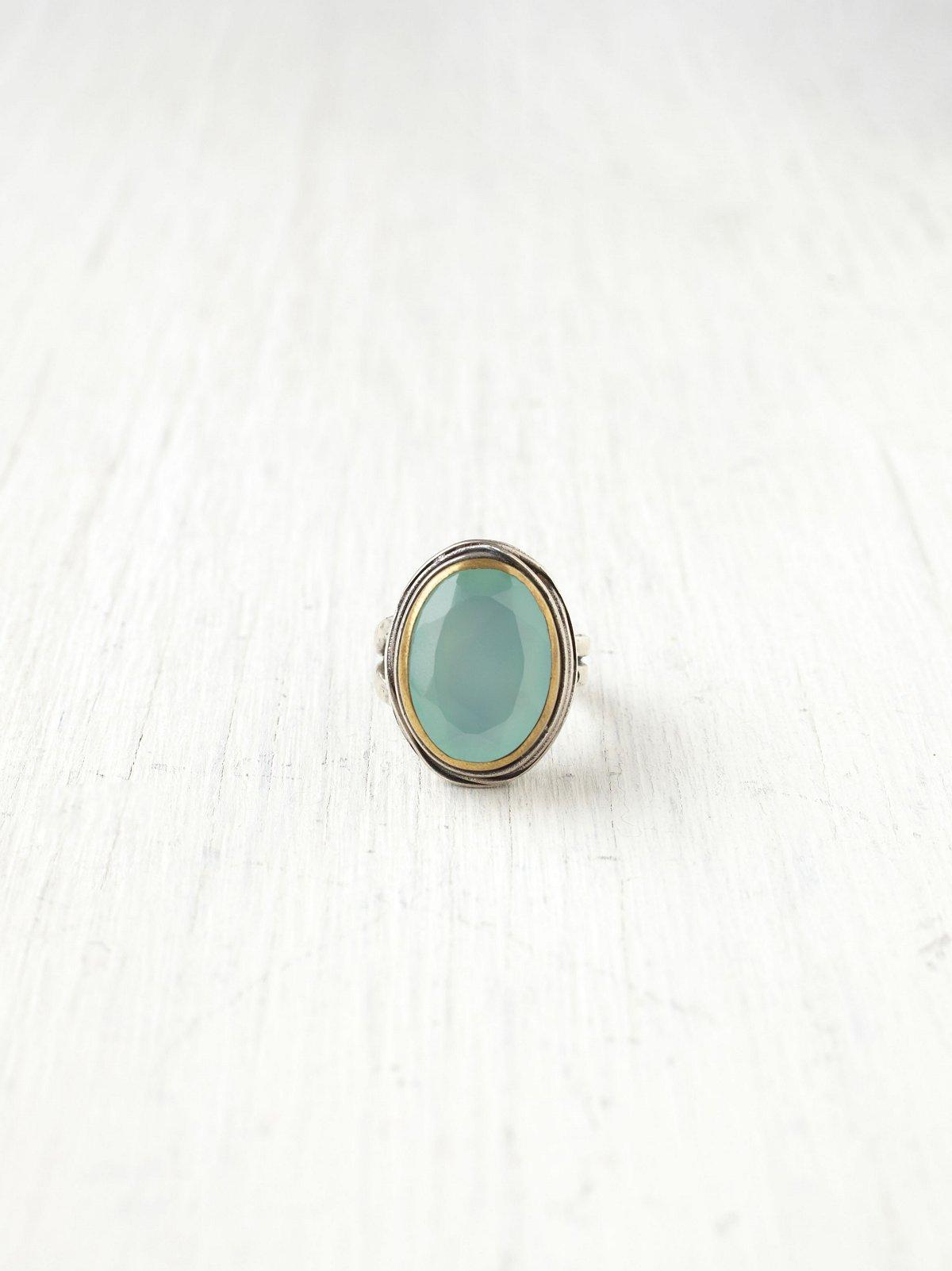 Seafoam Stone Ring